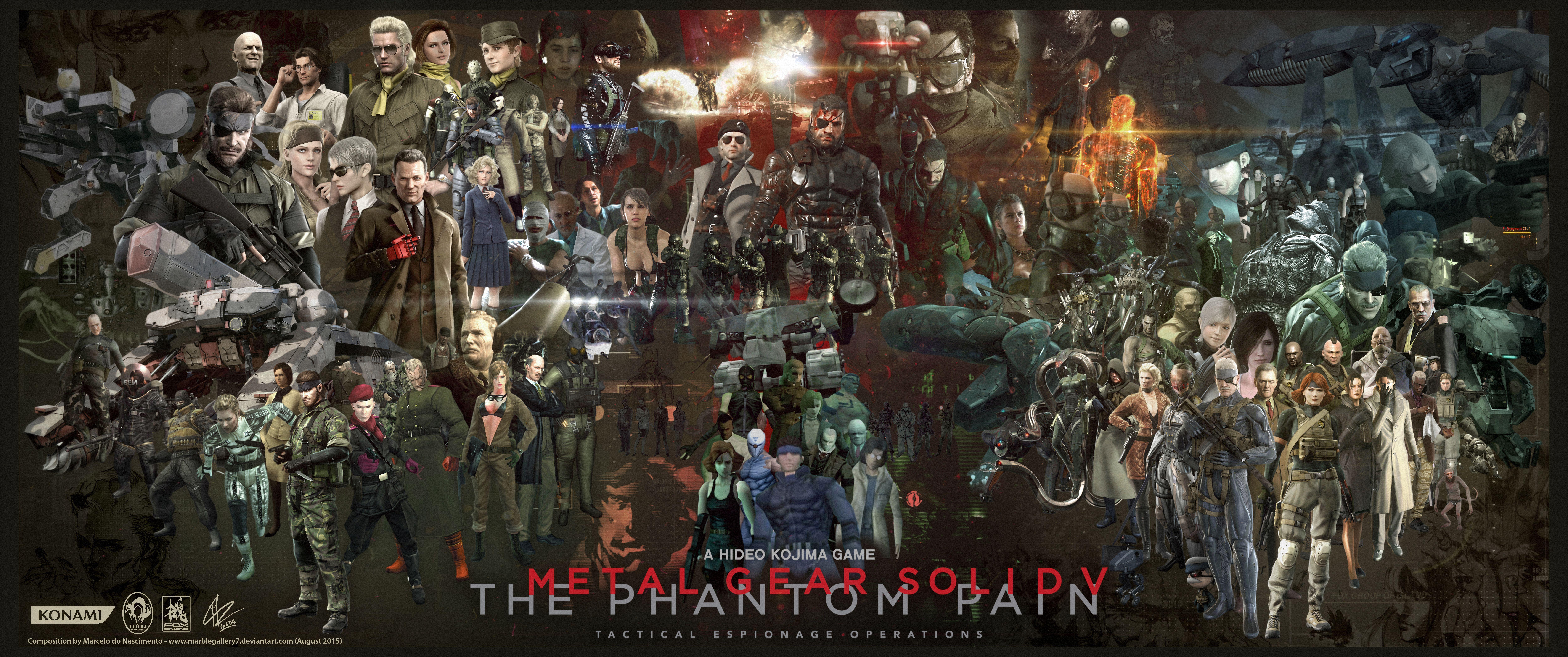 Phantom Pain Wallpapers Top Free Phantom Pain Backgrounds