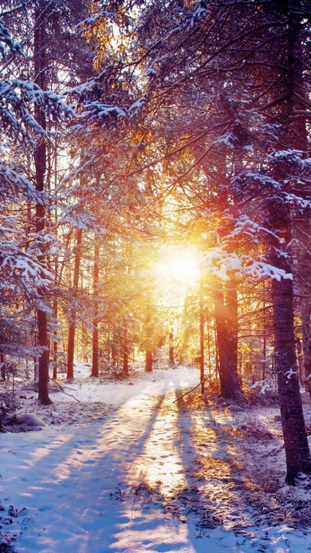 30 aesthetic scenery girly winter wallpaper iphone