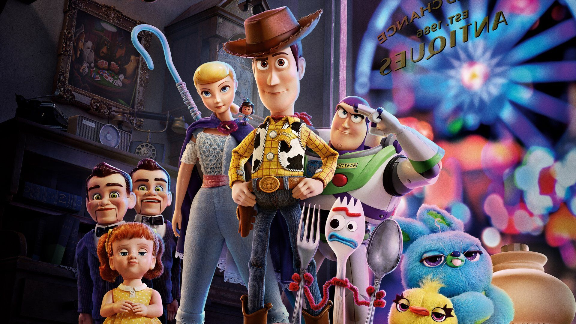 Toy Story 4 Desktop Wallpapers Top Free Toy Story 4