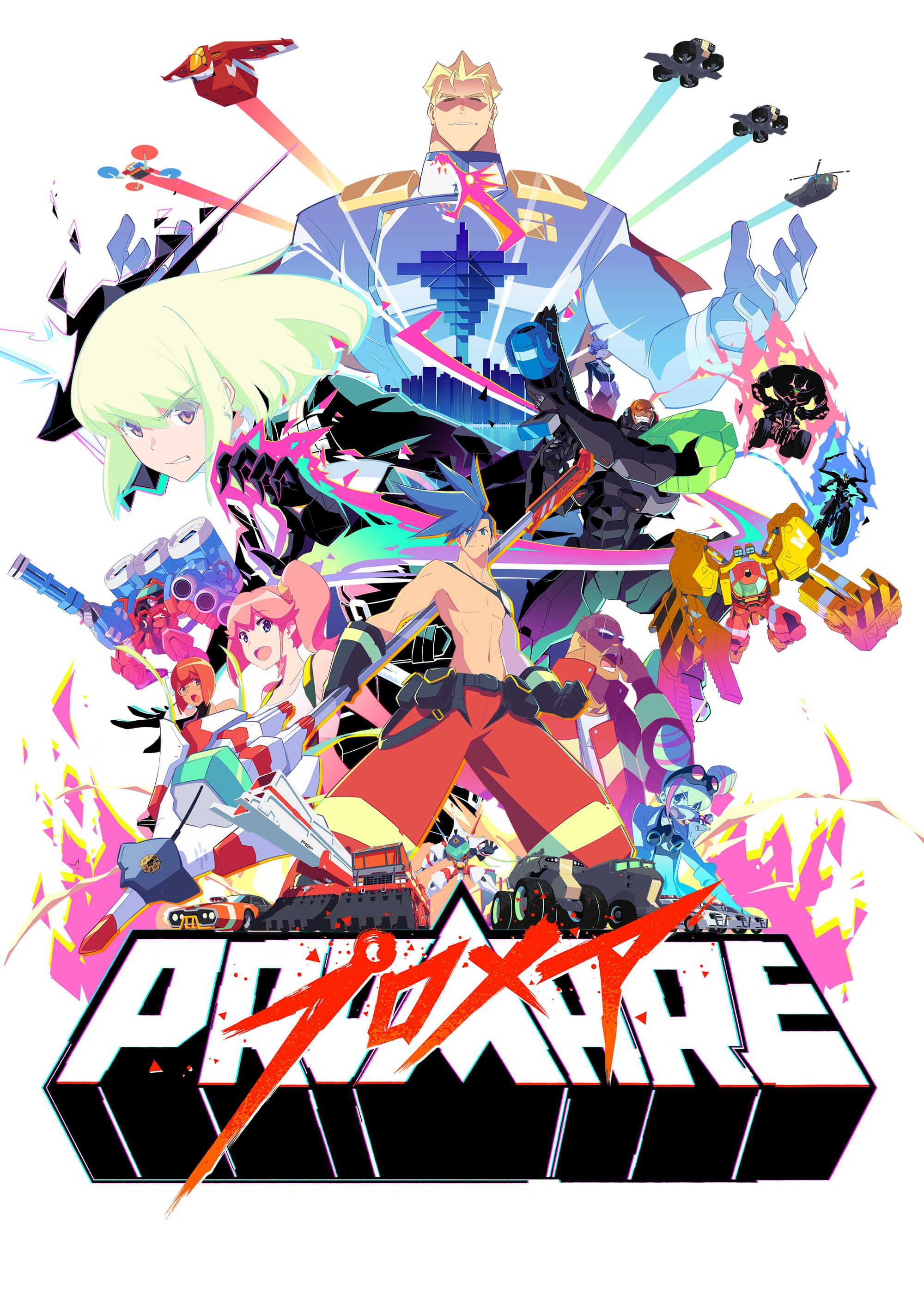 Promare Wallpapers Top Free Promare Backgrounds