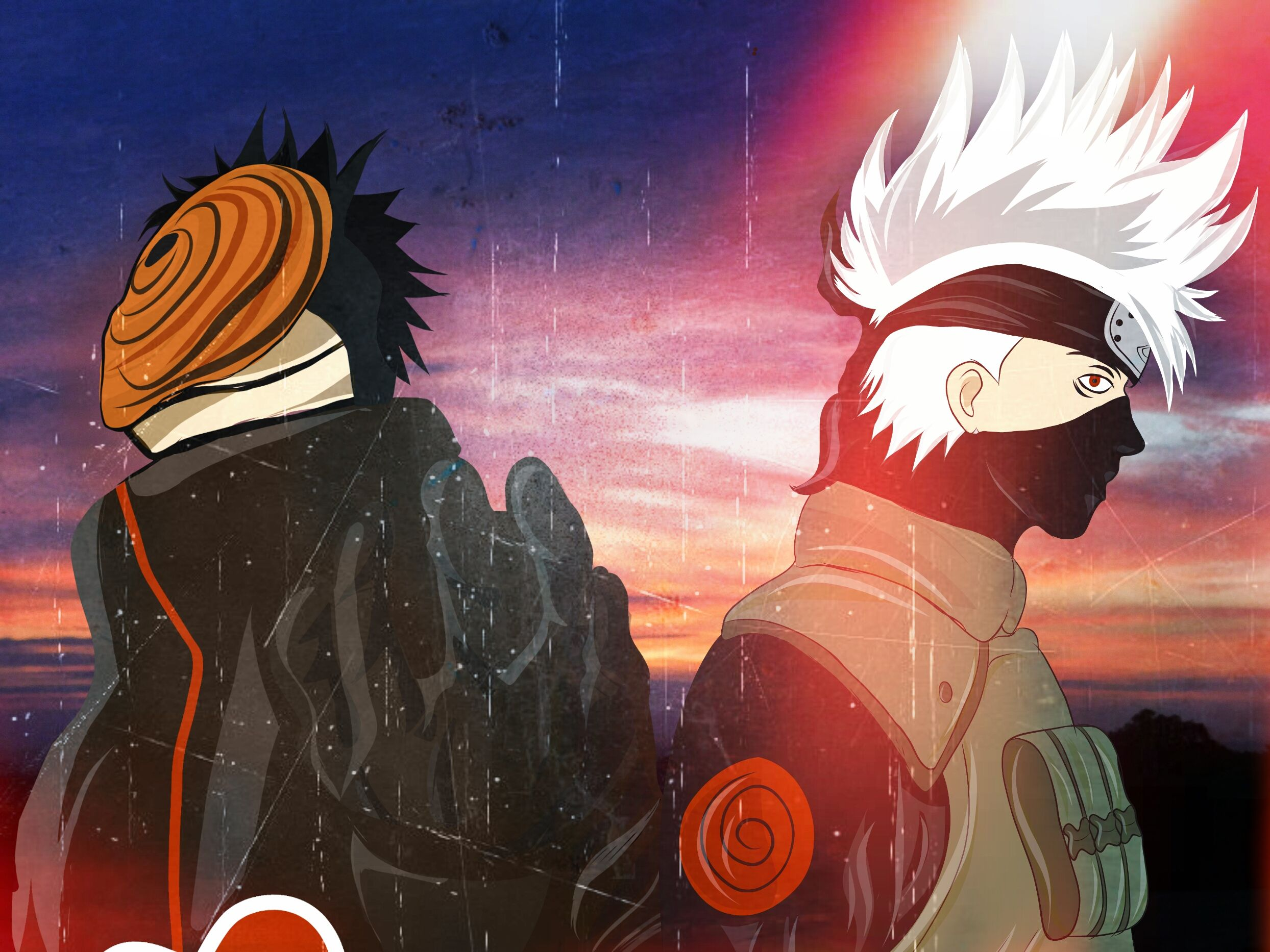 Kakashi And Obito Wallpapers Top Free Kakashi And Obito Backgrounds Wallpaperaccess