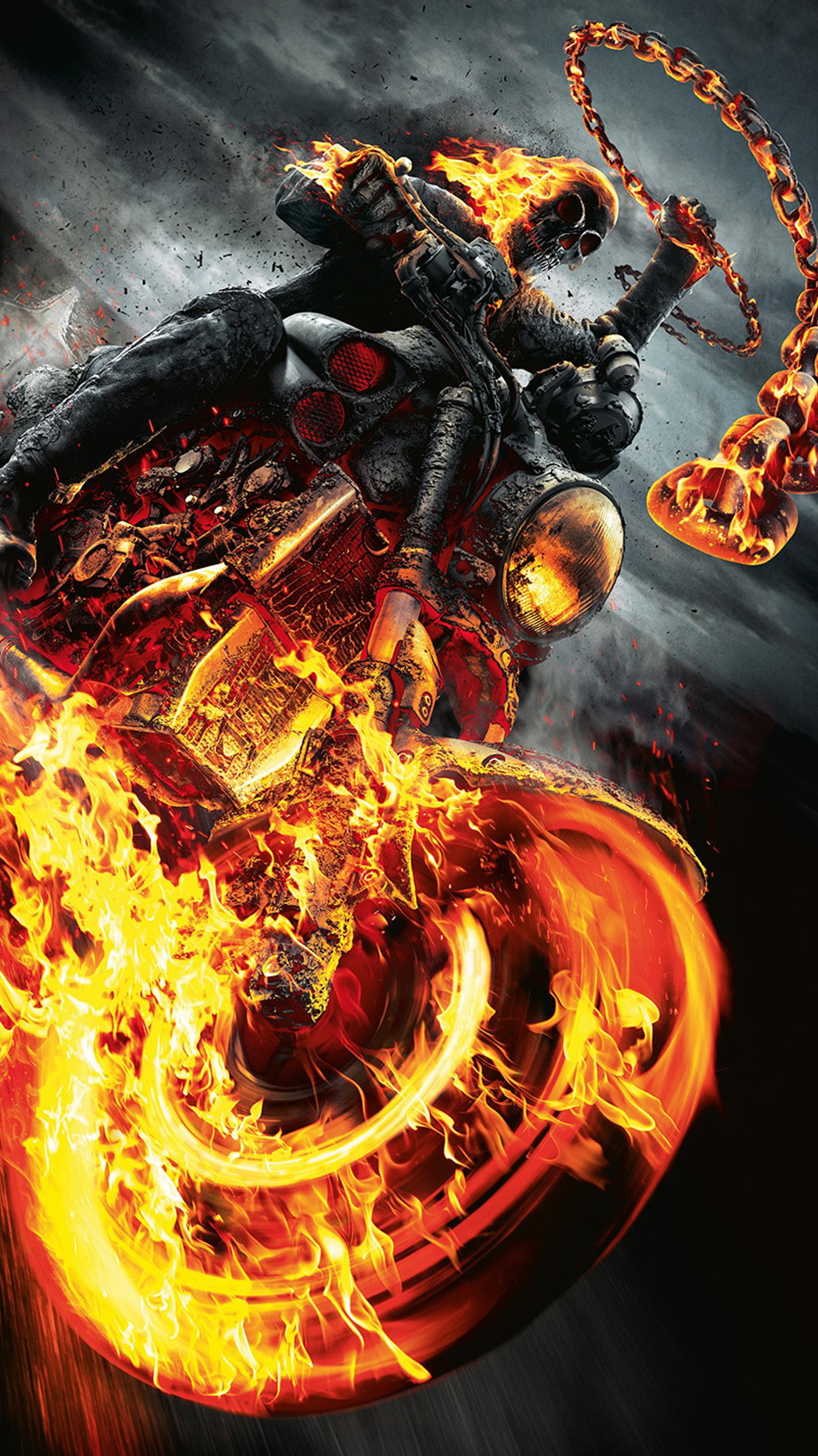 Ghost Rider Iphone Wallpapers Top Free Ghost Rider Iphone Backgrounds Wallpaperaccess