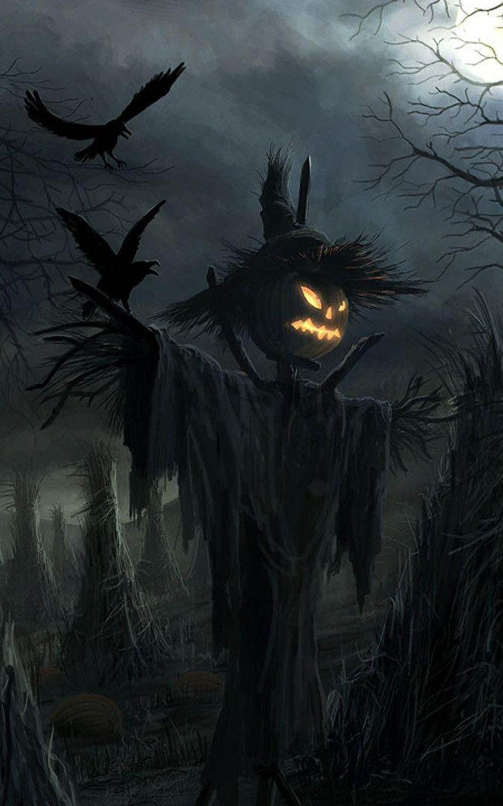 Scary Halloween iPhone Wallpapers - Top Free Scary ...