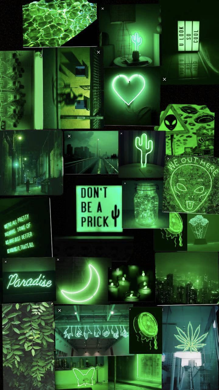 Neon Green Aesthetic Wallpapers - Top Free Neon Green ...