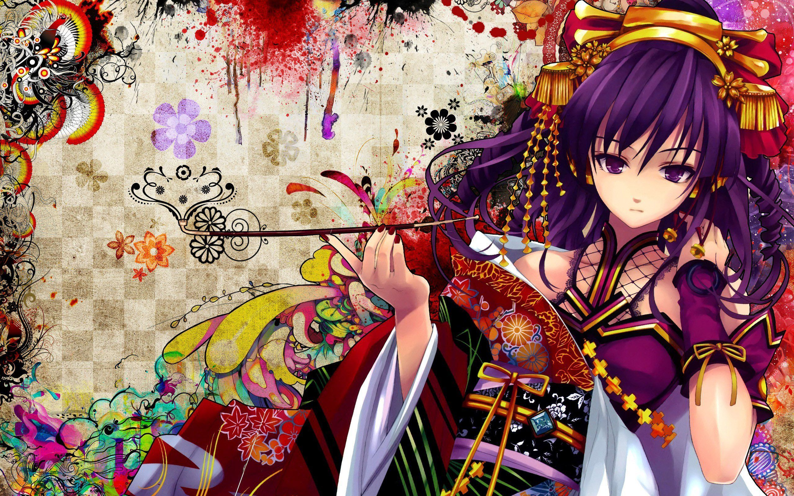 Anime Geisha Wallpapers Top Free Anime Geisha Backgrounds
