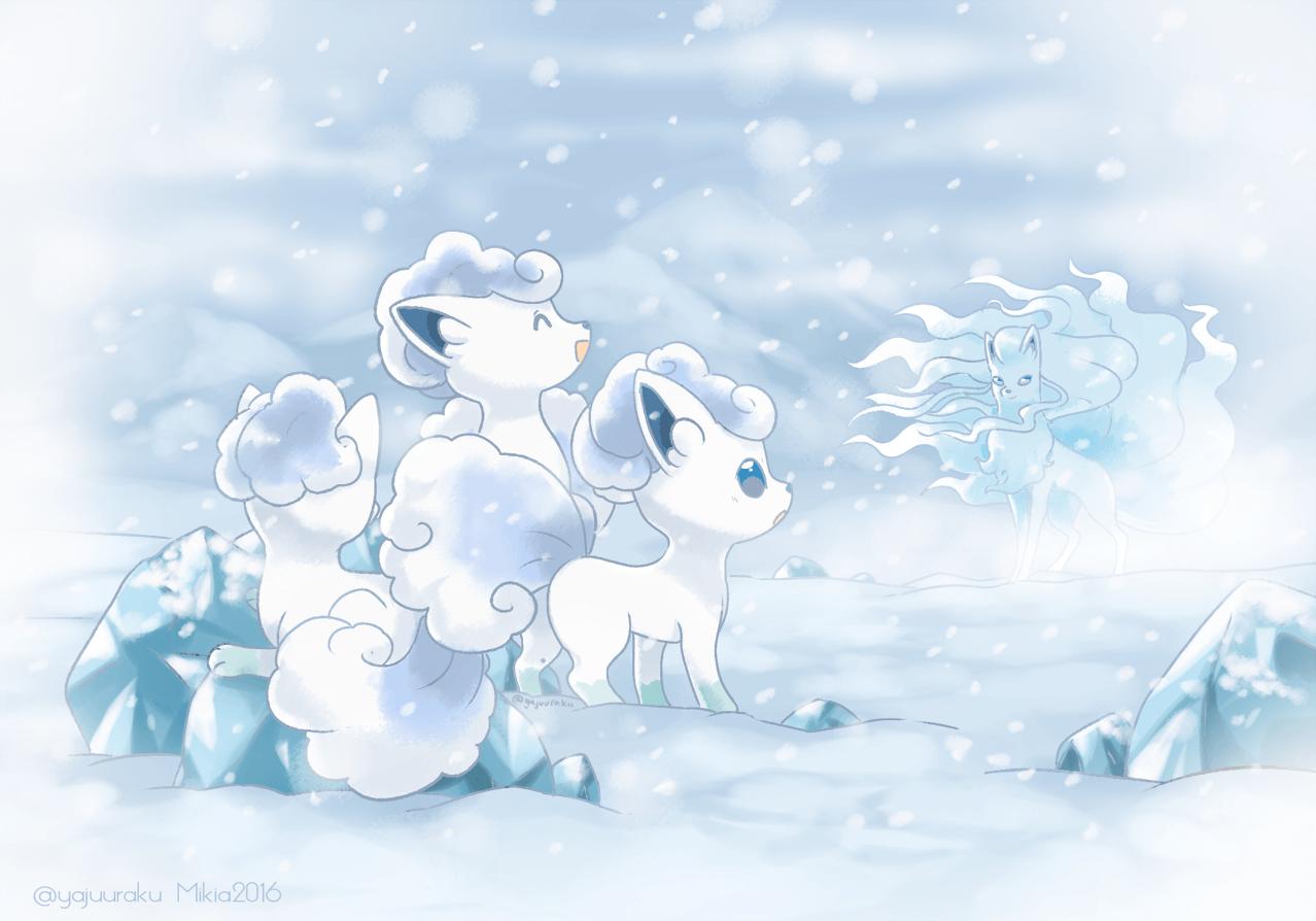Cute Pokemon Winter Wallpaper