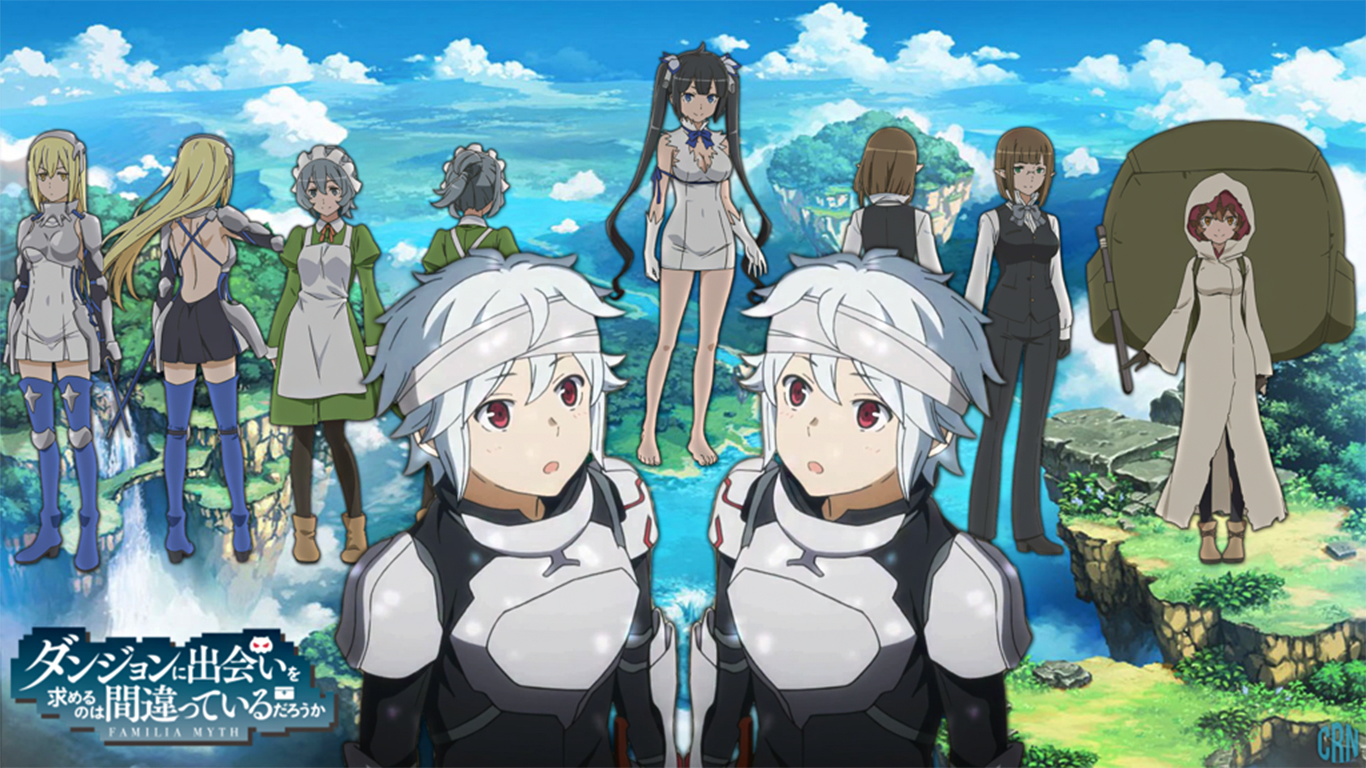 Is It Wrong To Try To Pick Up Girls In A Dungeon Wallpapers Top