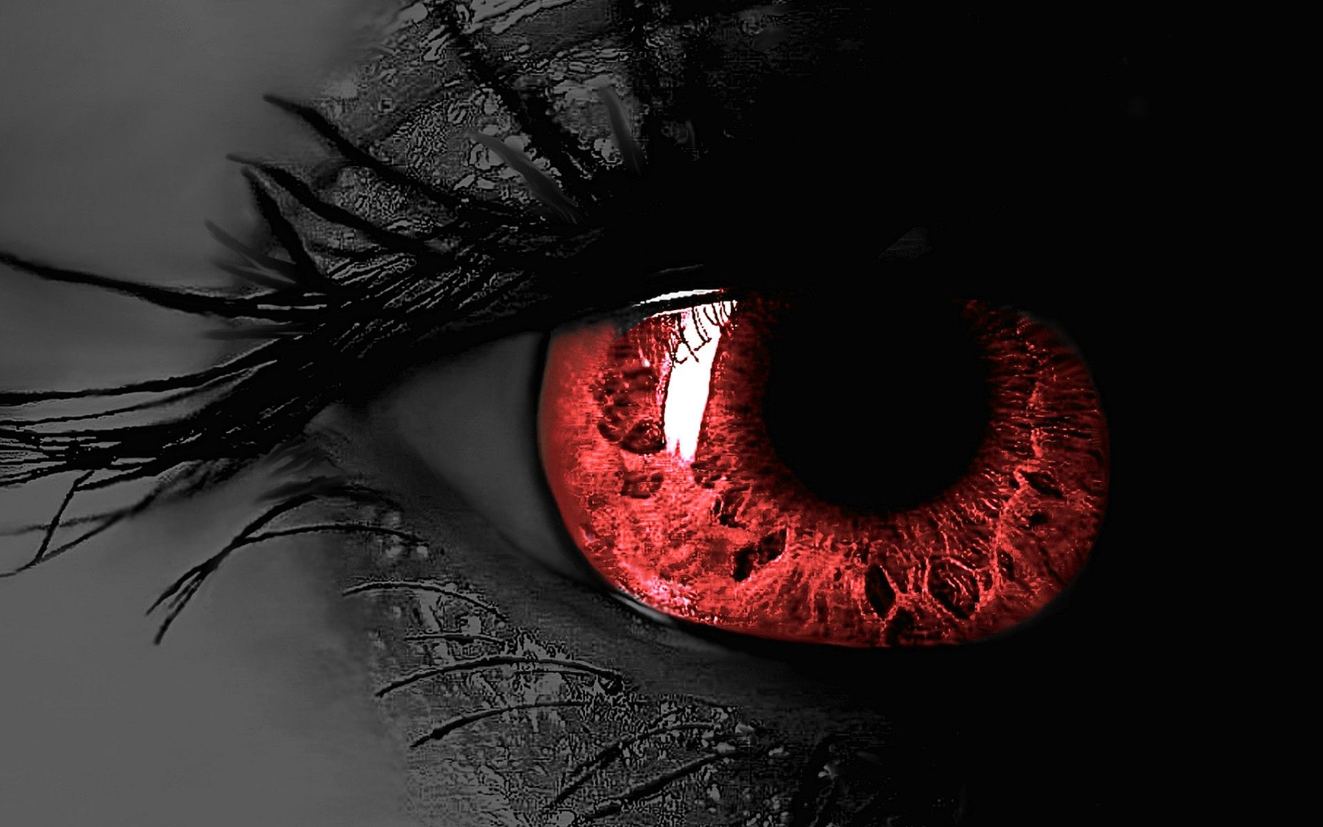Red Eyes Wallpapers Top Free Red Eyes Backgrounds Wallpaperaccess