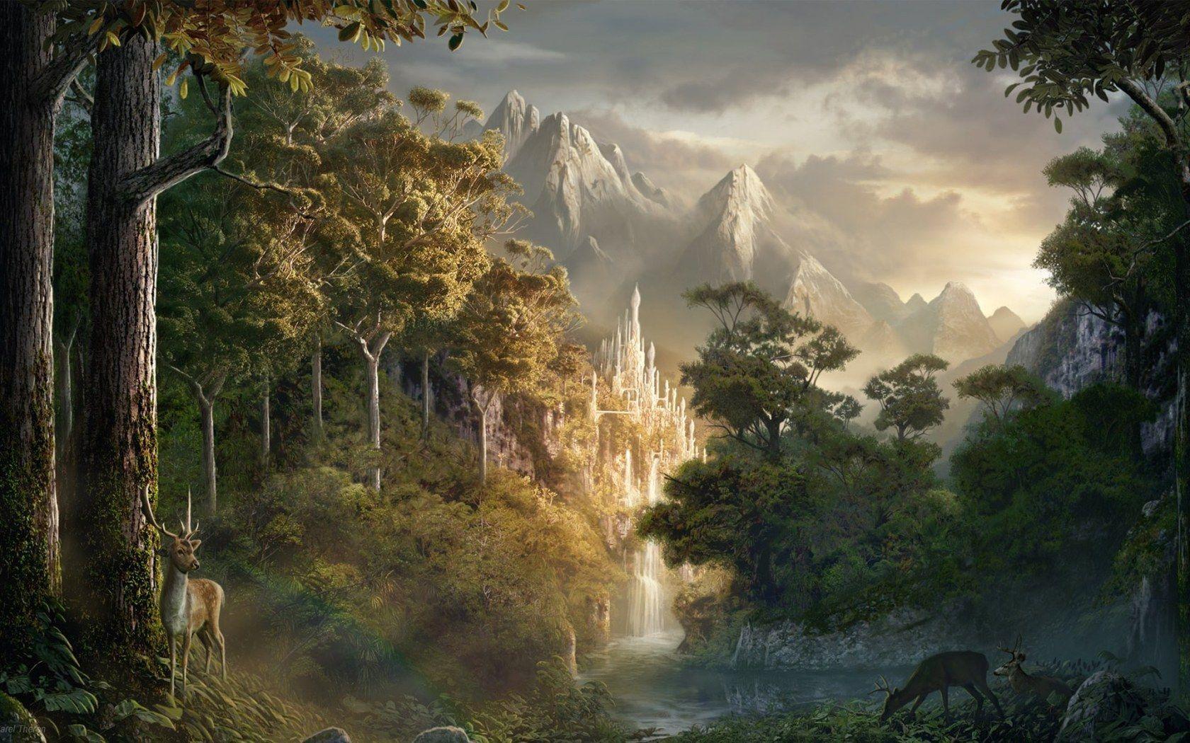 Magical Landscape Wallpapers Top Free Magical Landscape