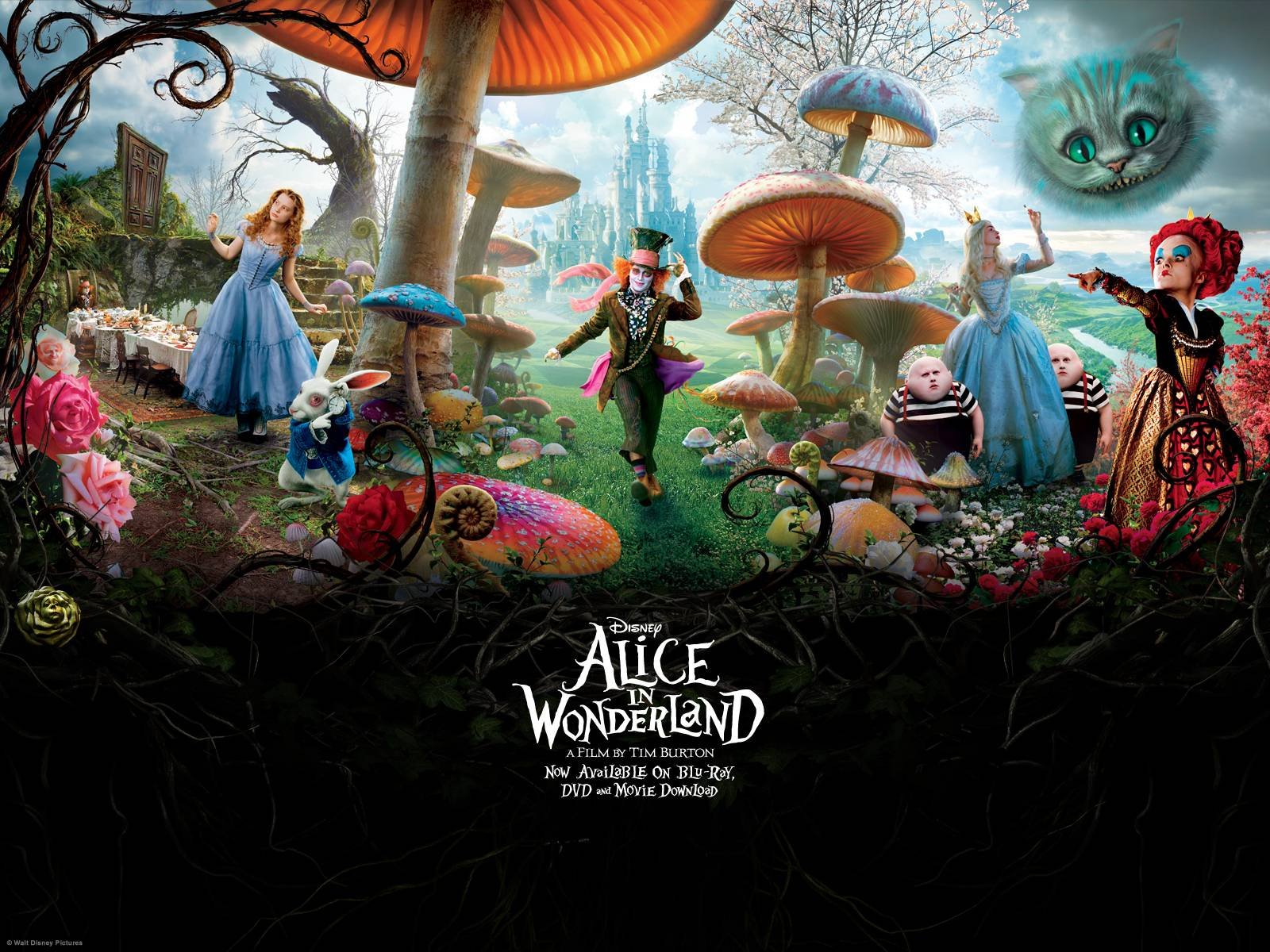 Alice In Wonderland Wallpapers Top Free Alice In Wonderland
