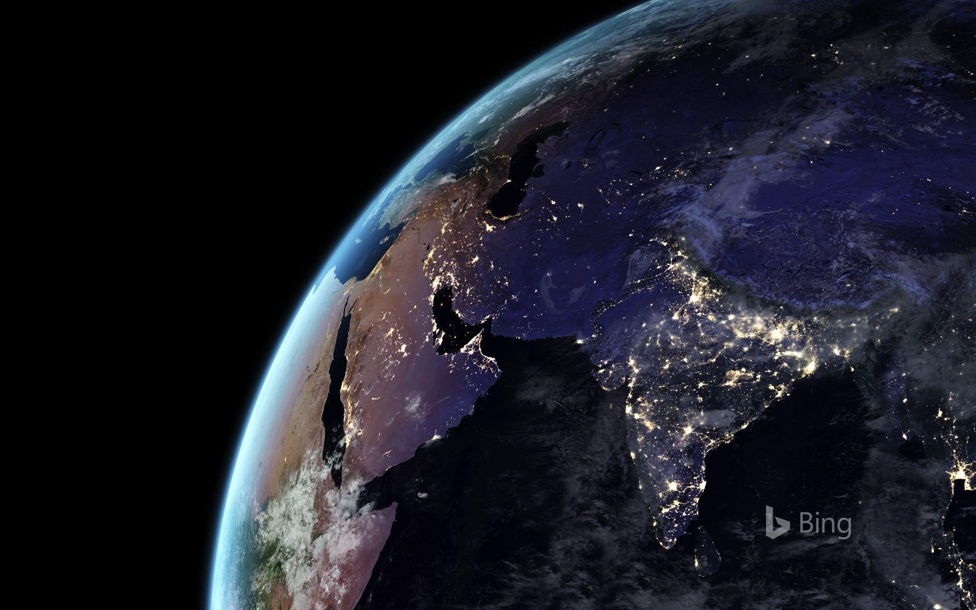 Nasa Earth At Night Wallpapers Top Free Nasa Earth At