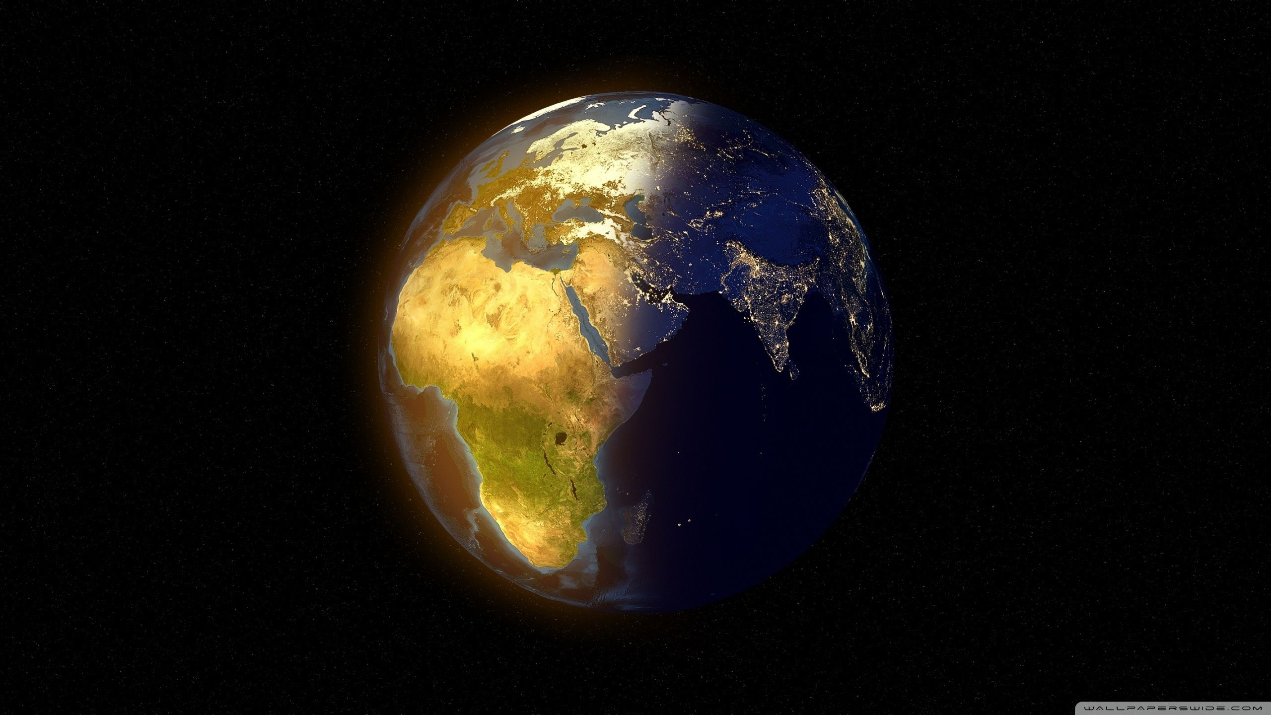 Earth Day And Night Wallpapers Top Free Earth Day And Night Backgrounds Wallpaperaccess