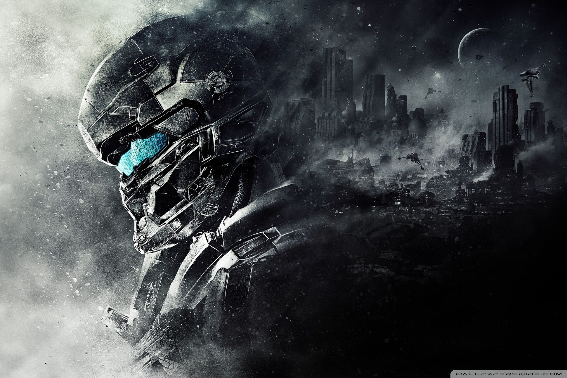 Halo 5 Odst Concept Art