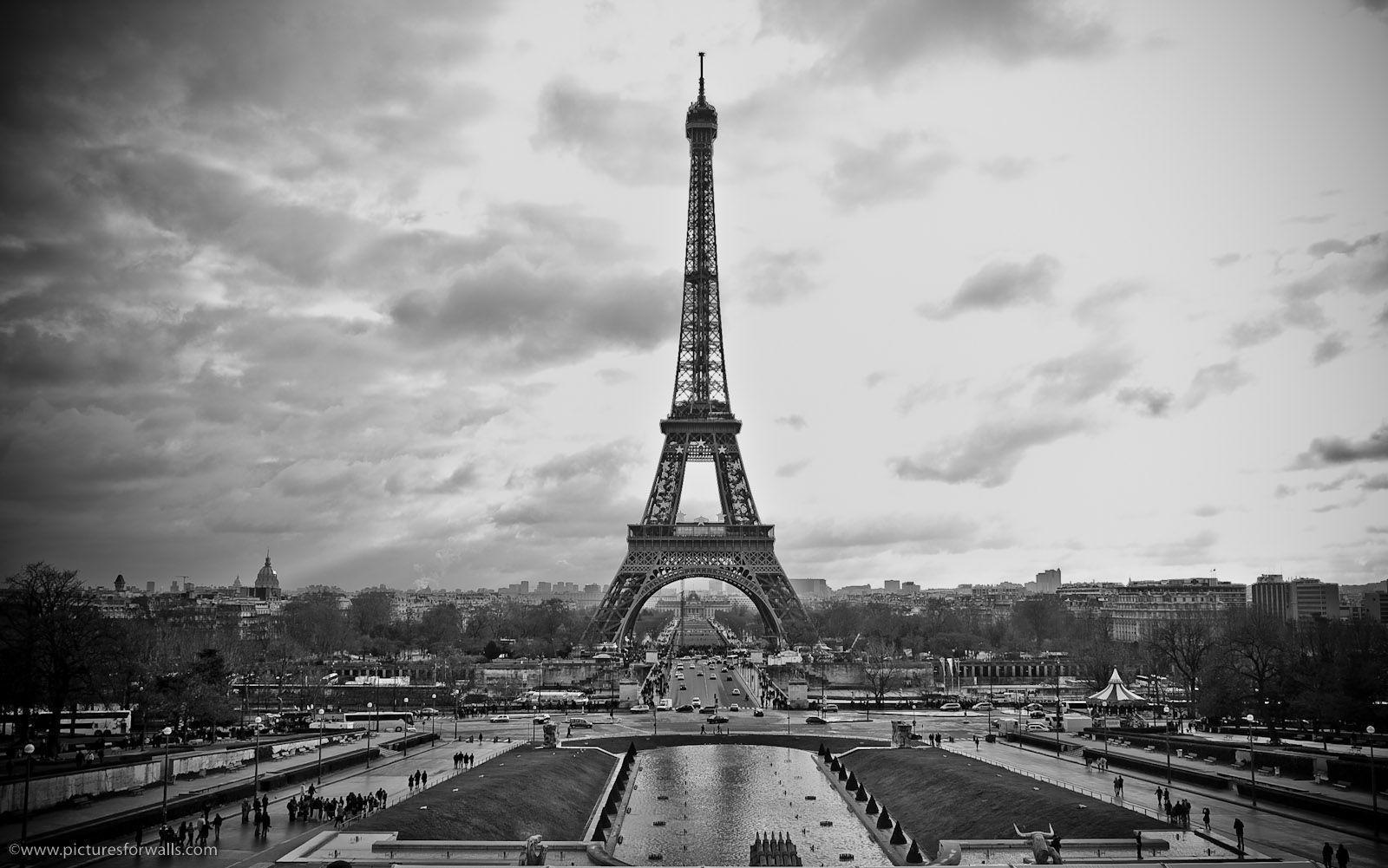 Paris Black And White Wallpapers Top Free Paris Black And White
