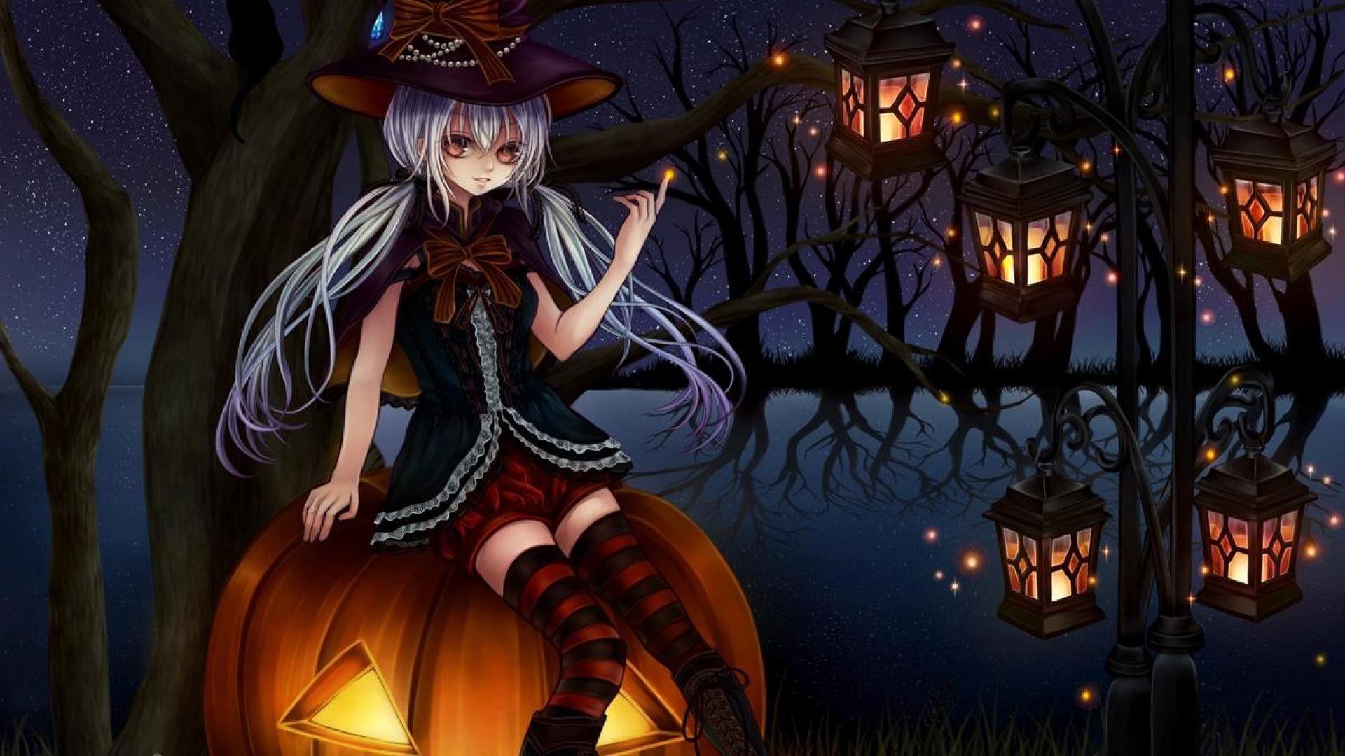 Anime Halloween Wallpapers - Top Free Anime Halloween Backgrounds