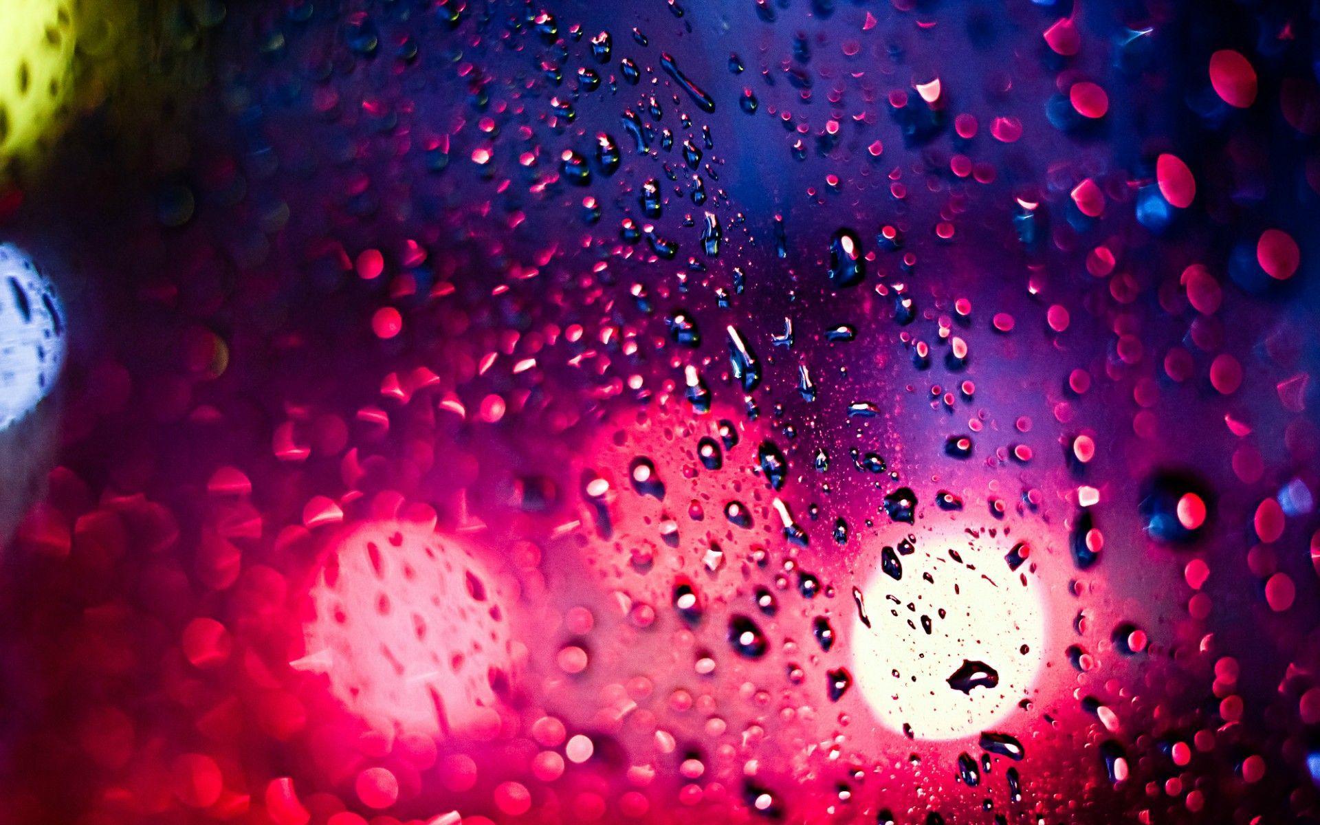 colorful rain wallpapers top free