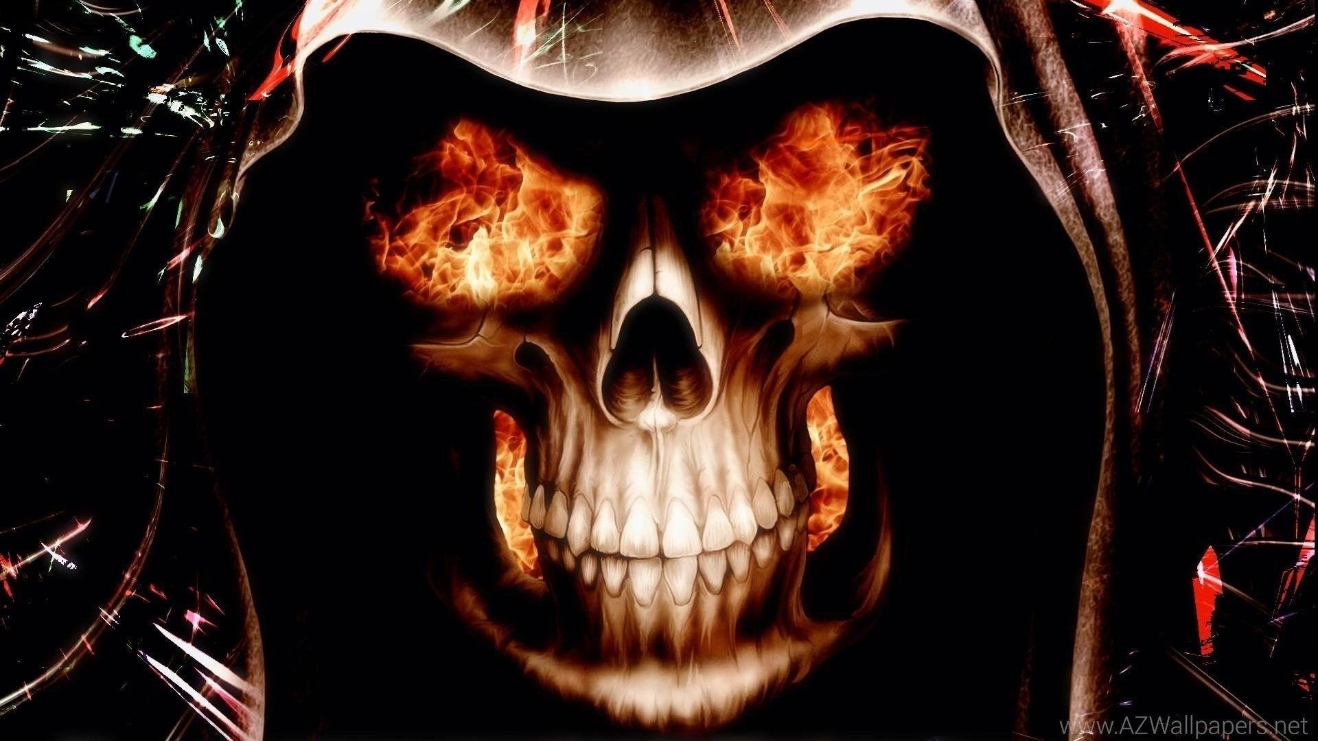 HD Skull Desktop Wallpapers