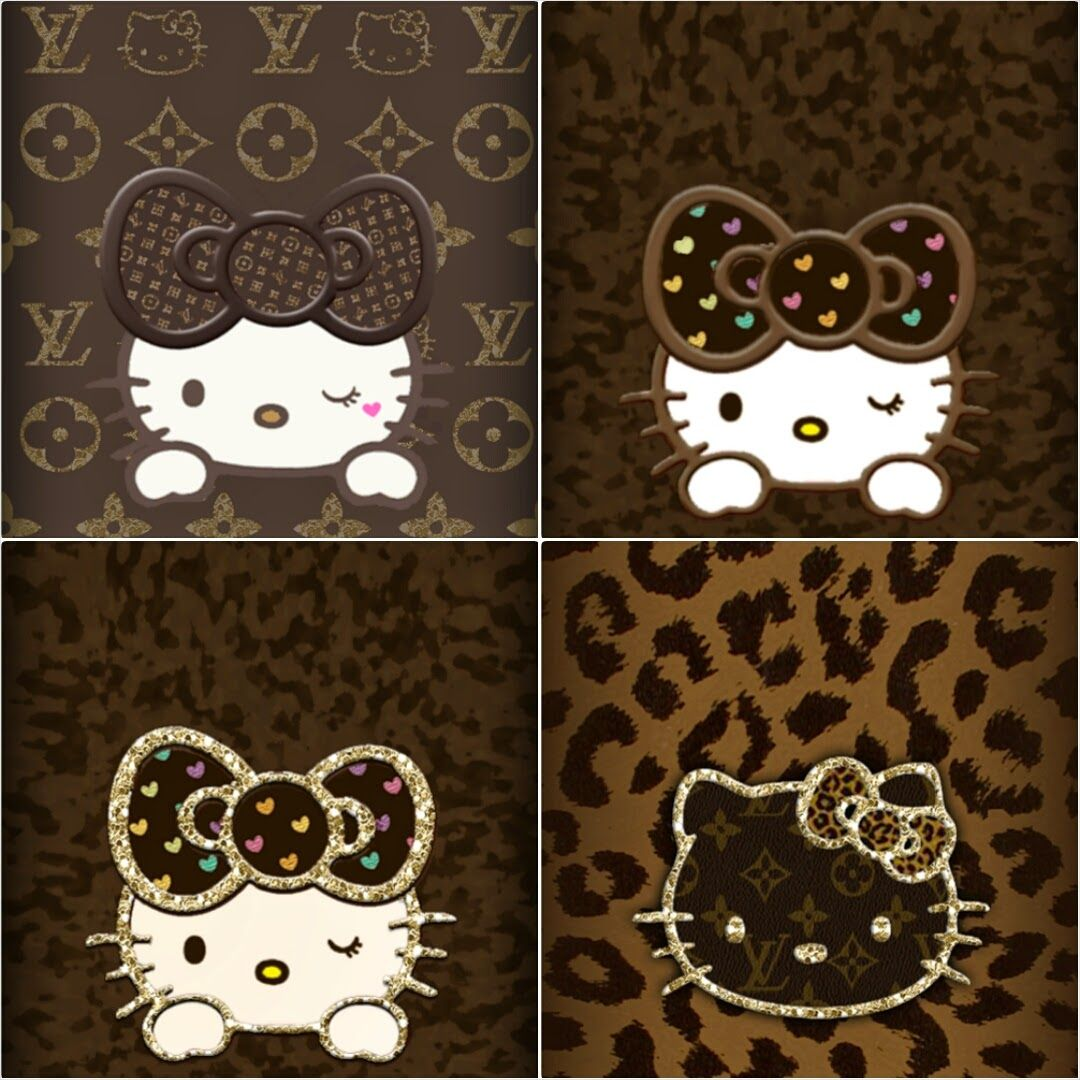 Leopard Print Iphone Wallpaper: Hello Kitty Leopard IPhone Wallpapers