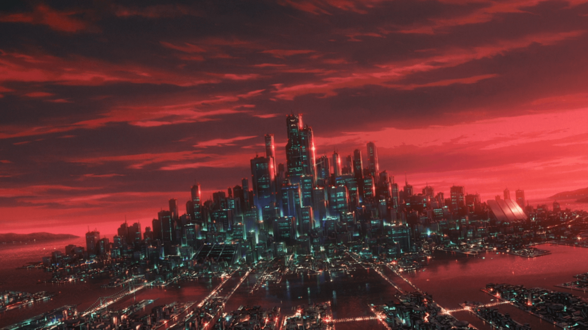 Ghost In The Shell City Wallpapers Top Free Ghost In The Shell City Backgrounds Wallpaperaccess