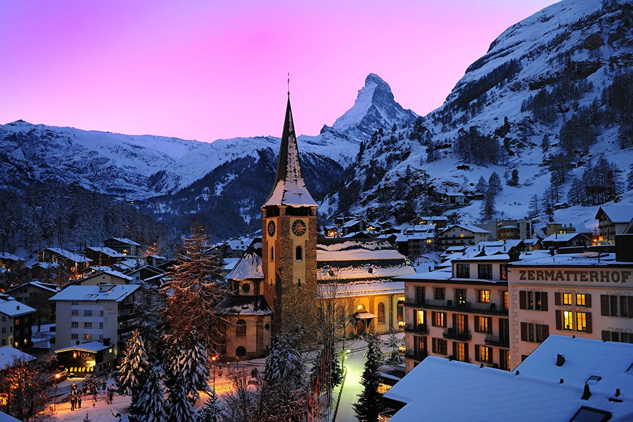 Switzerland Winter Wallpapers Top Free Switzerland Winter