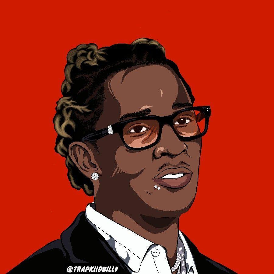 Animated Young Thug Wallpapers Top Free Animated Young Thug