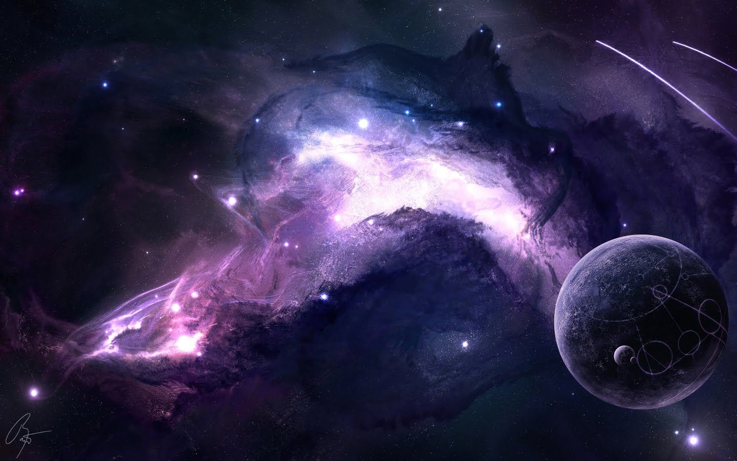 Blue Universe Space Wallpapers Top Free Blue Universe