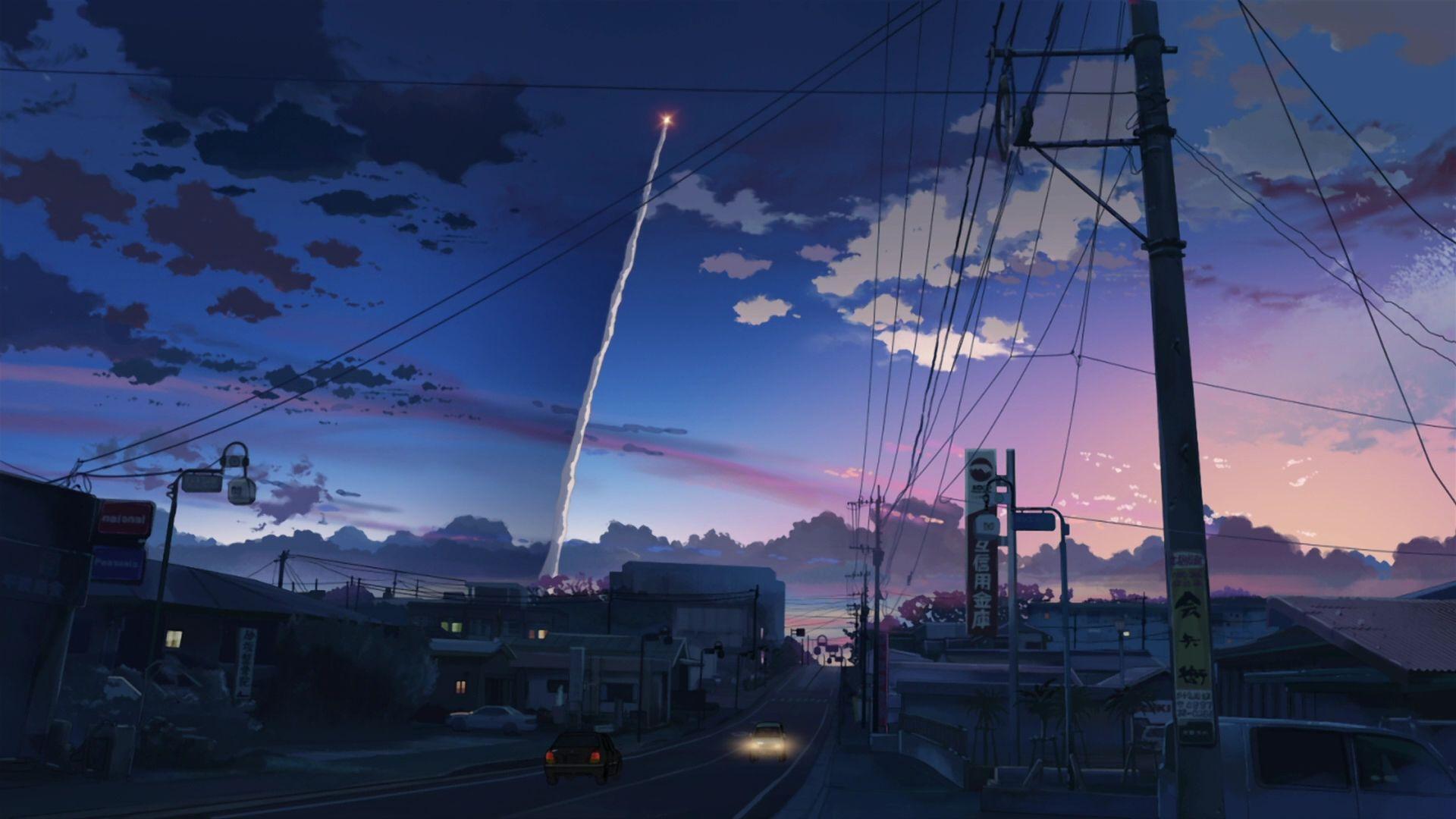Hình nền HD 1920x1080 Anime Aesthetic