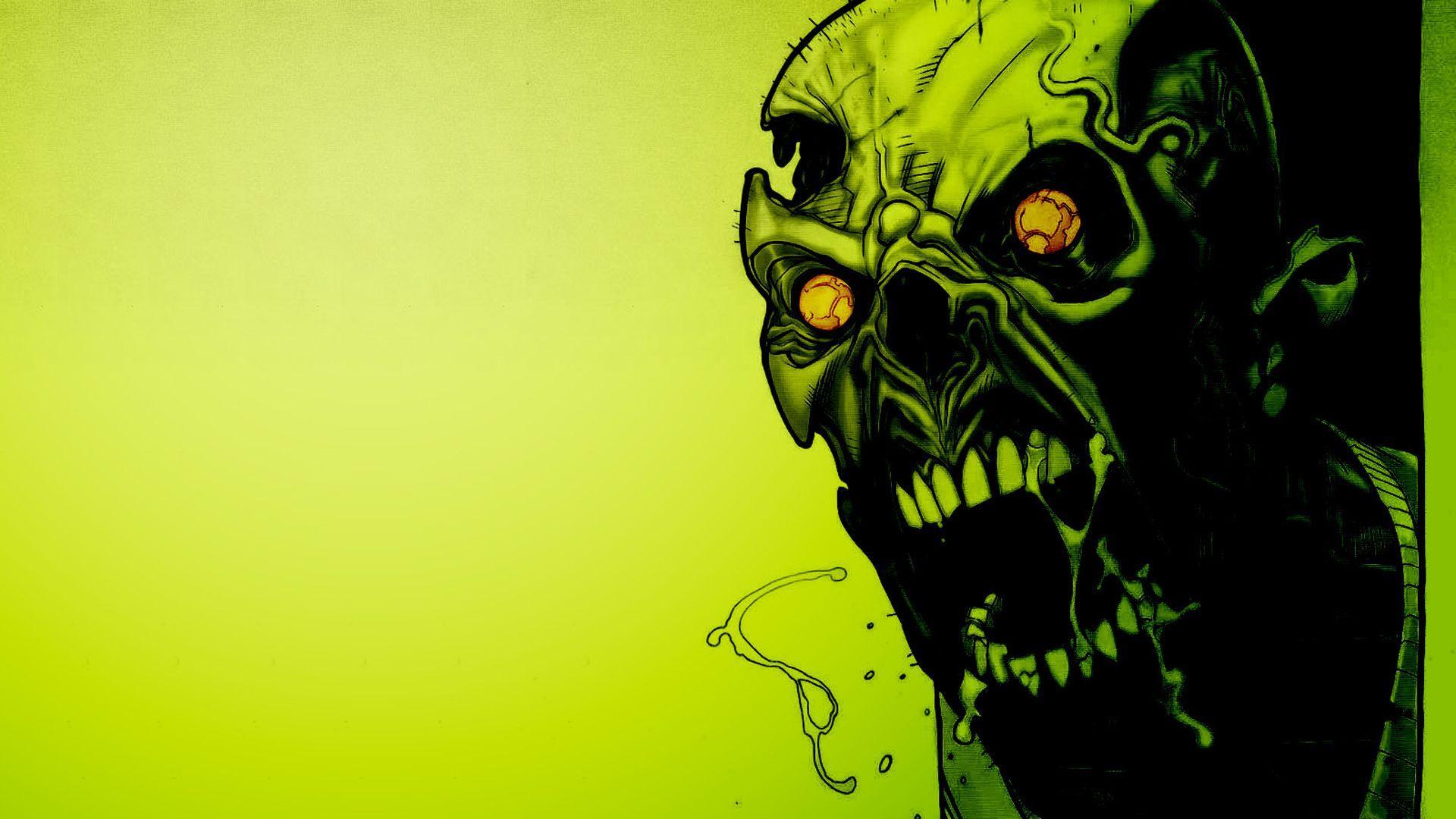 Fantasy Art Zombie Invasion City