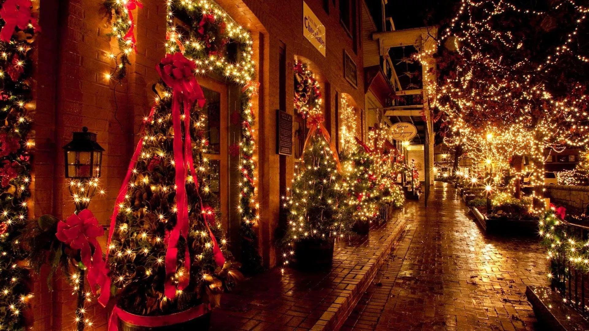 Christmas Lights Wallpapers , Top Free Christmas Lights