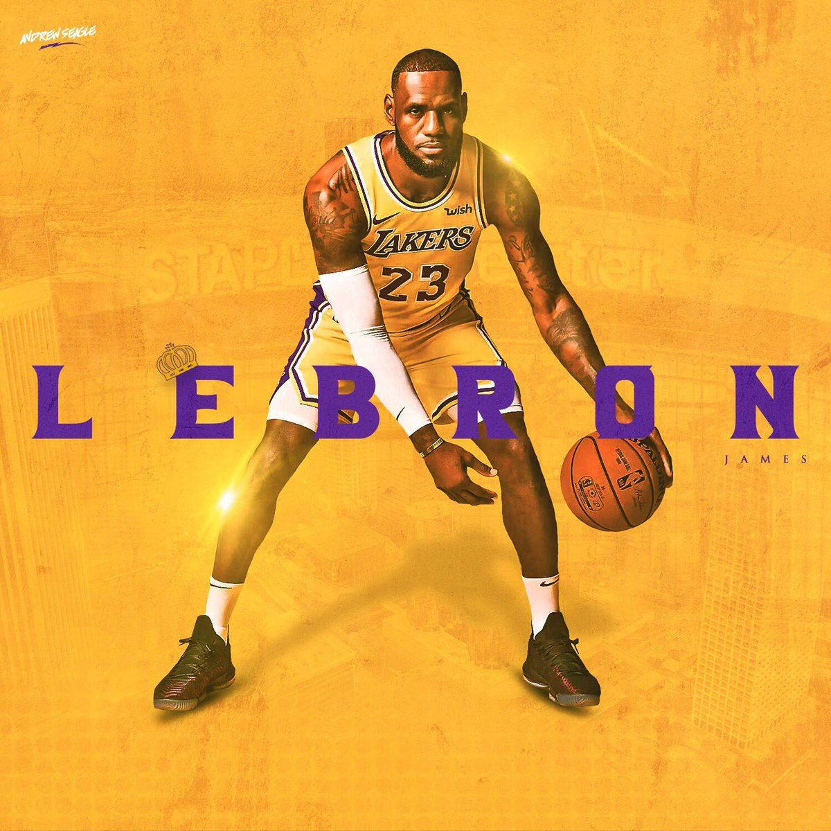 Lebron James Wallpaper Iphone: LeBron James Lakers Wallpapers