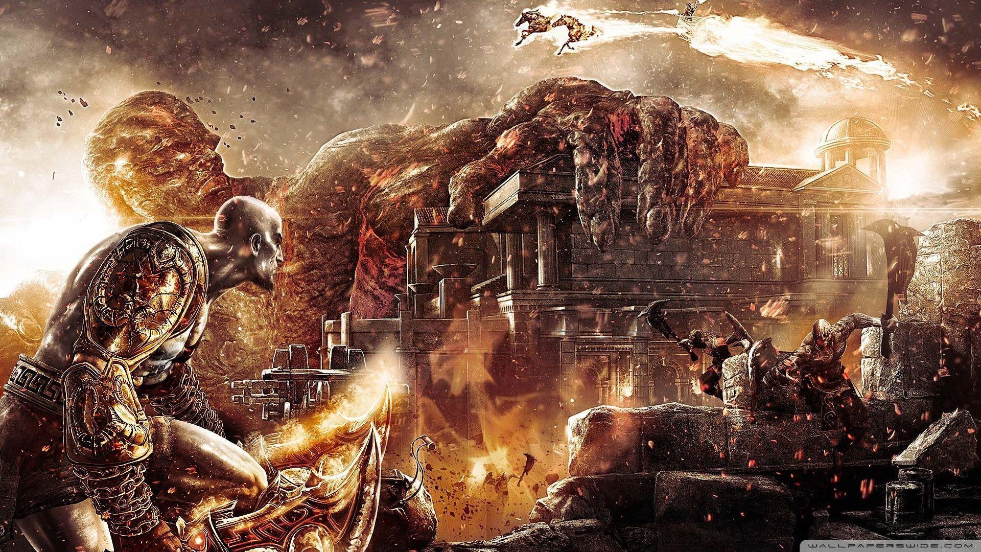 71 Best Free God Of War 3 Wallpapers Wallpaperaccess