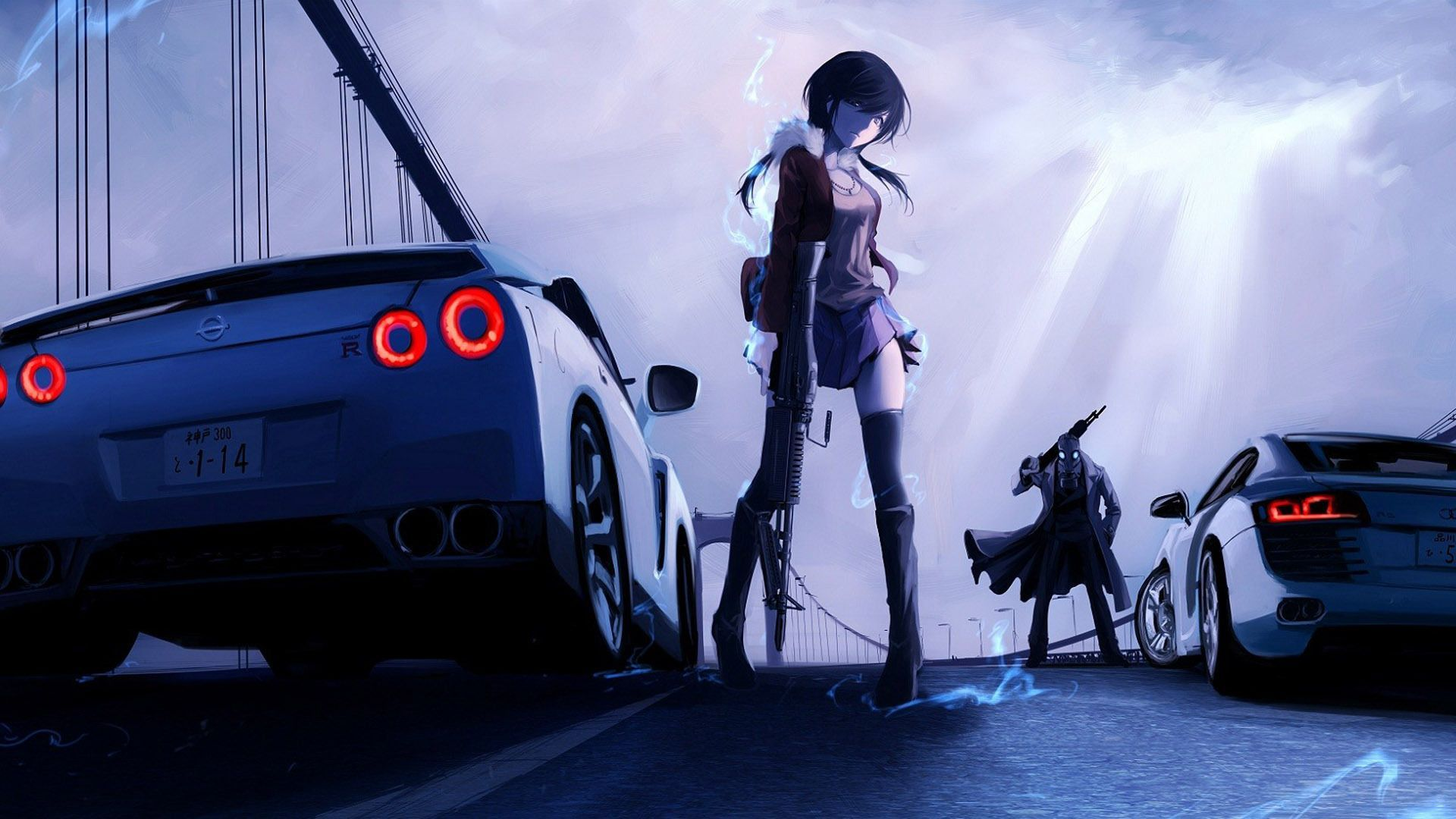 Car Anime Wallpapers Top Free Car Anime Backgrounds Wallpaperaccess