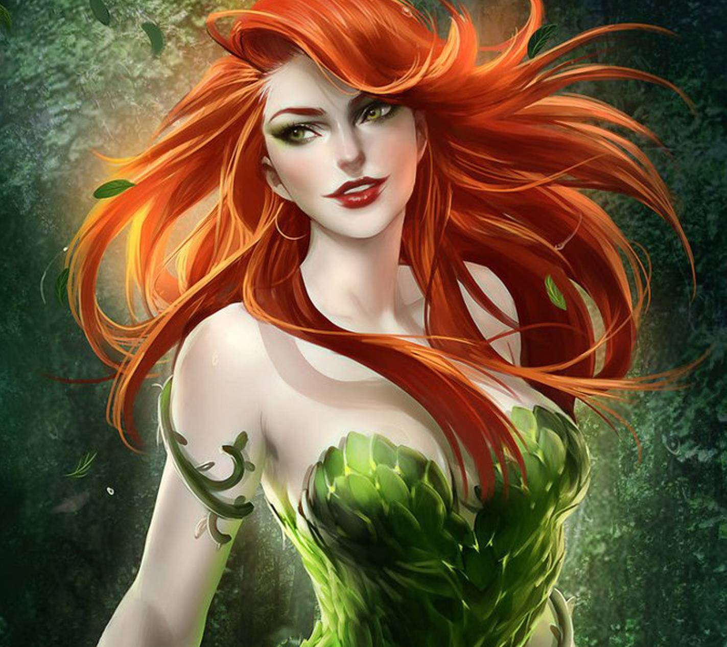 Poison Ivy Wallpapers Top Free Poison Ivy Backgrounds