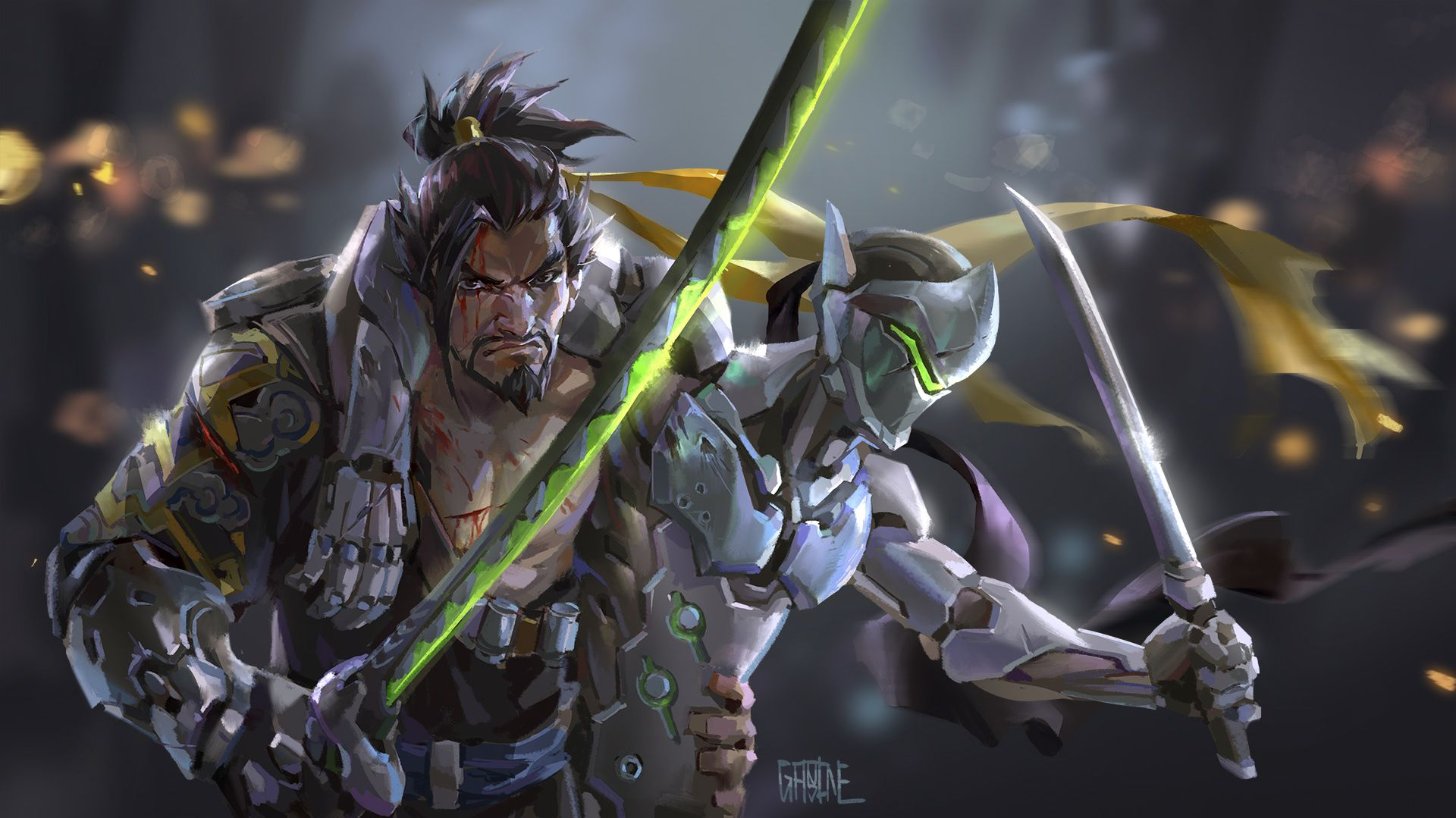 Hanzo Wallpapers Top Free Hanzo Backgrounds Wallpaperaccess