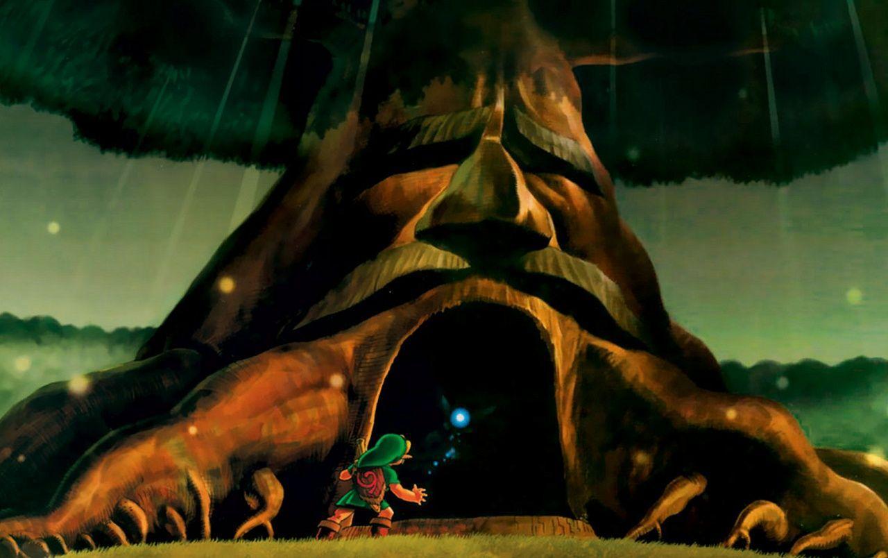 Hình nền 1280x804 The Legend of Zelda Deku Tree
