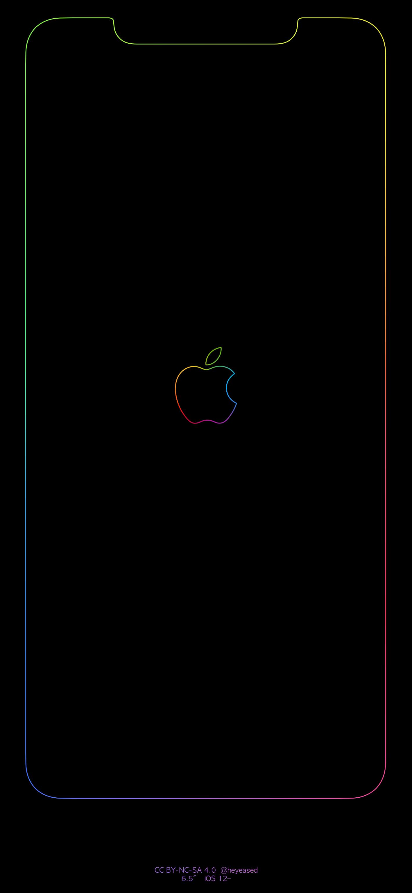 Rainbow Apple Logo Wallpapers Top Free Rainbow Apple Logo Backgrounds Wallpaperaccess