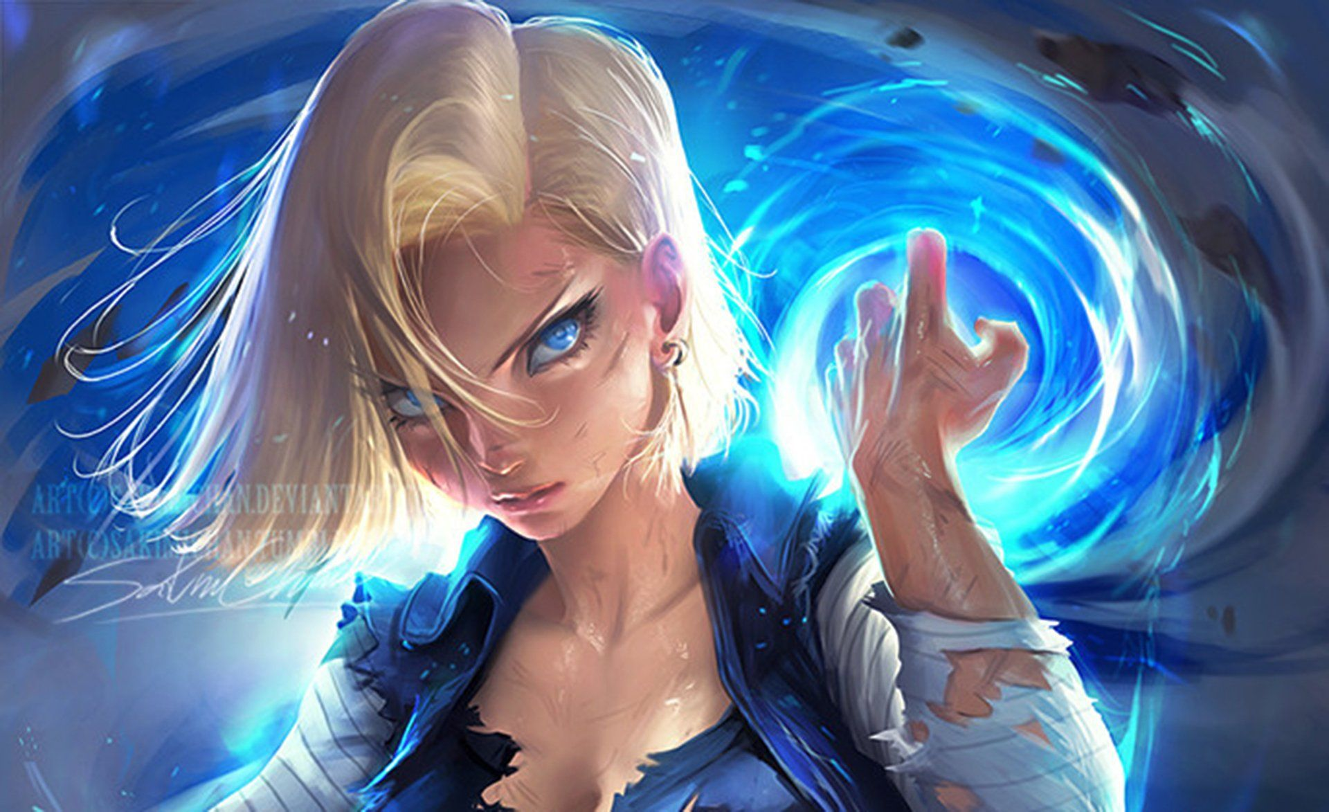 Android 18 Wallpapers Top Free Android 18 Backgrounds