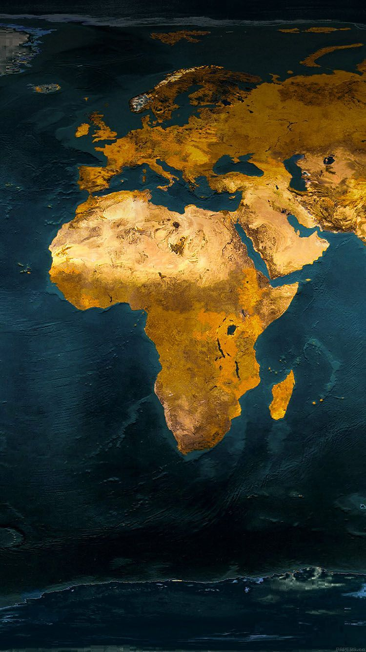 Africa Map Wallpapers Top Free Africa Map Backgrounds