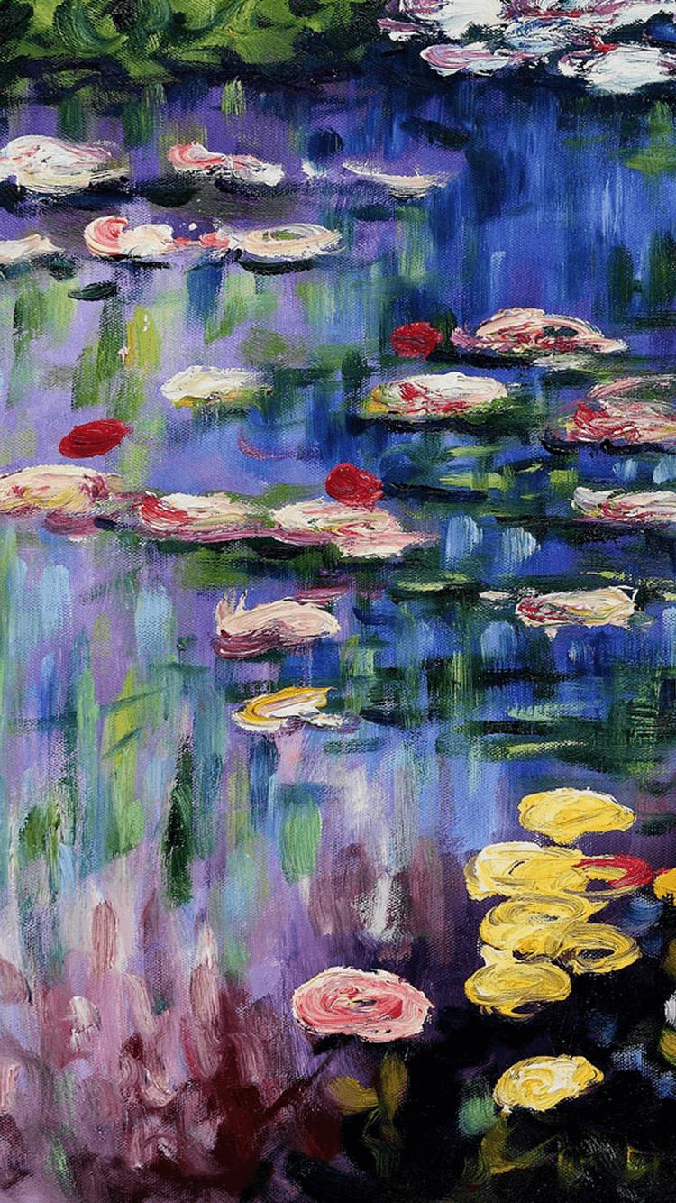 Monet Water Lilies Wallpapers Top Free Monet Water Lilies
