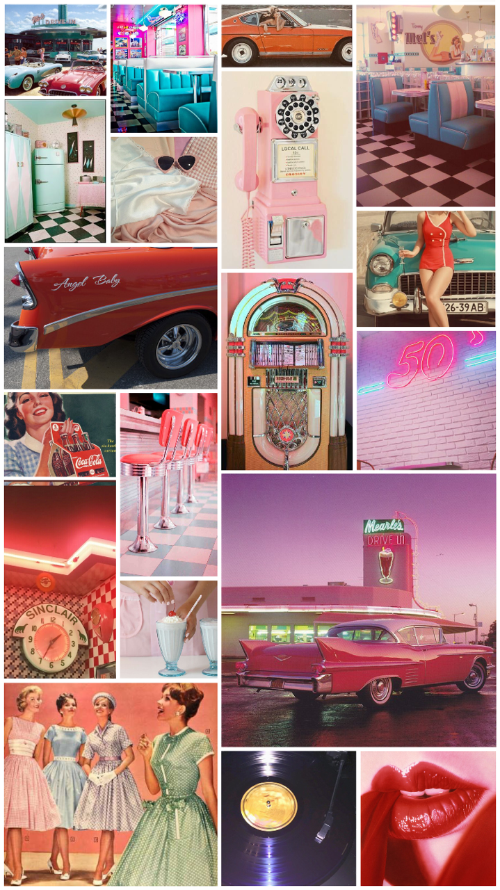 50s Aesthetic Wallpapers Top Free 50s Aesthetic
