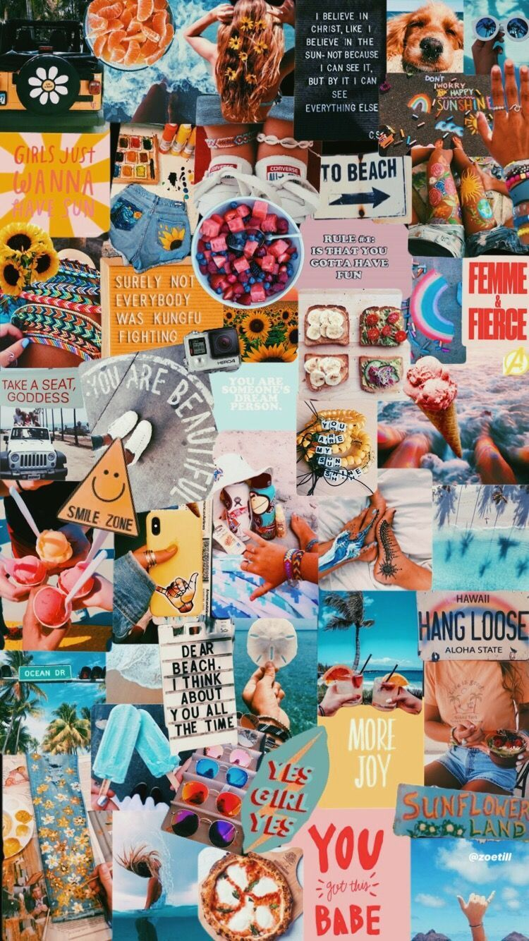 Aesthetic Collage Wallpapers Top Free Aesthetic Collage