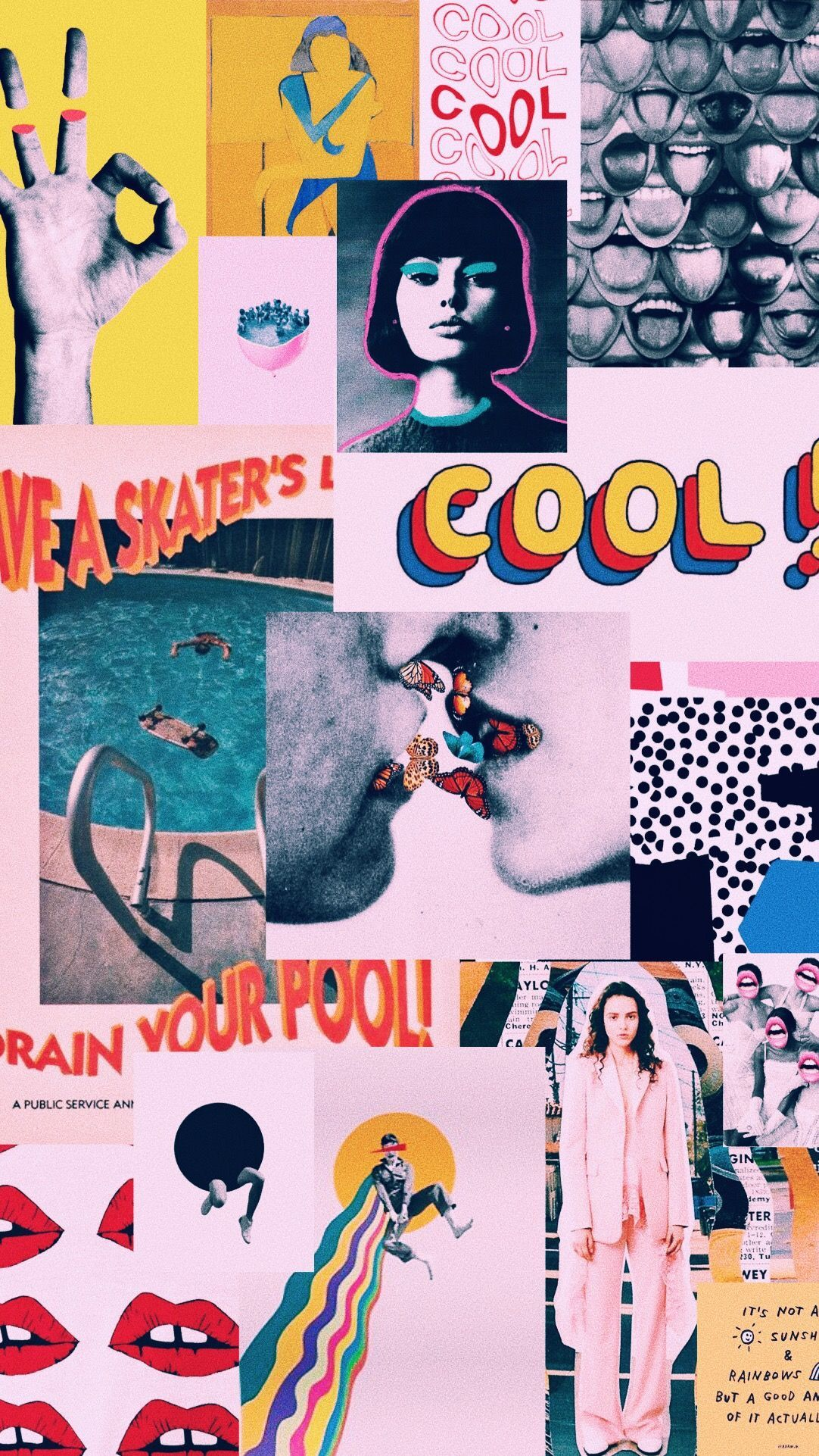 Cool Collage Wallpapers Top Free Cool Collage Backgrounds