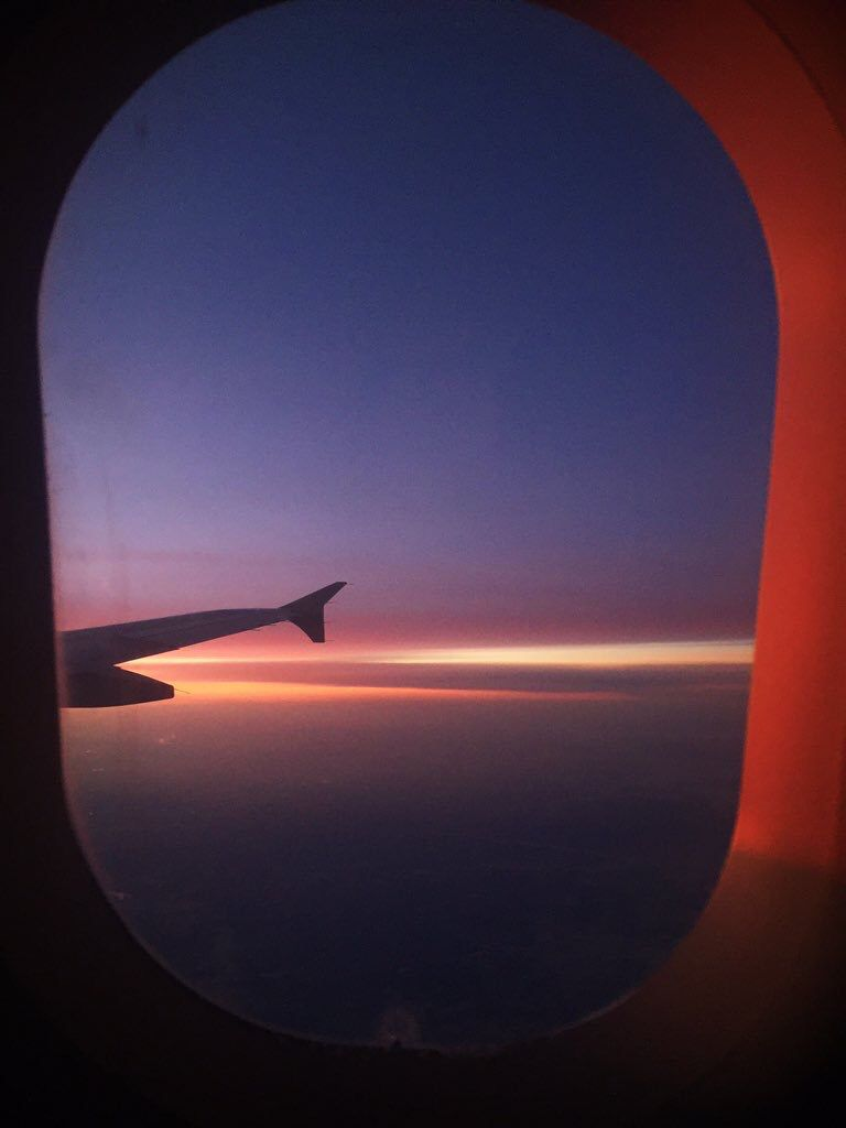 airplane window view tumblr