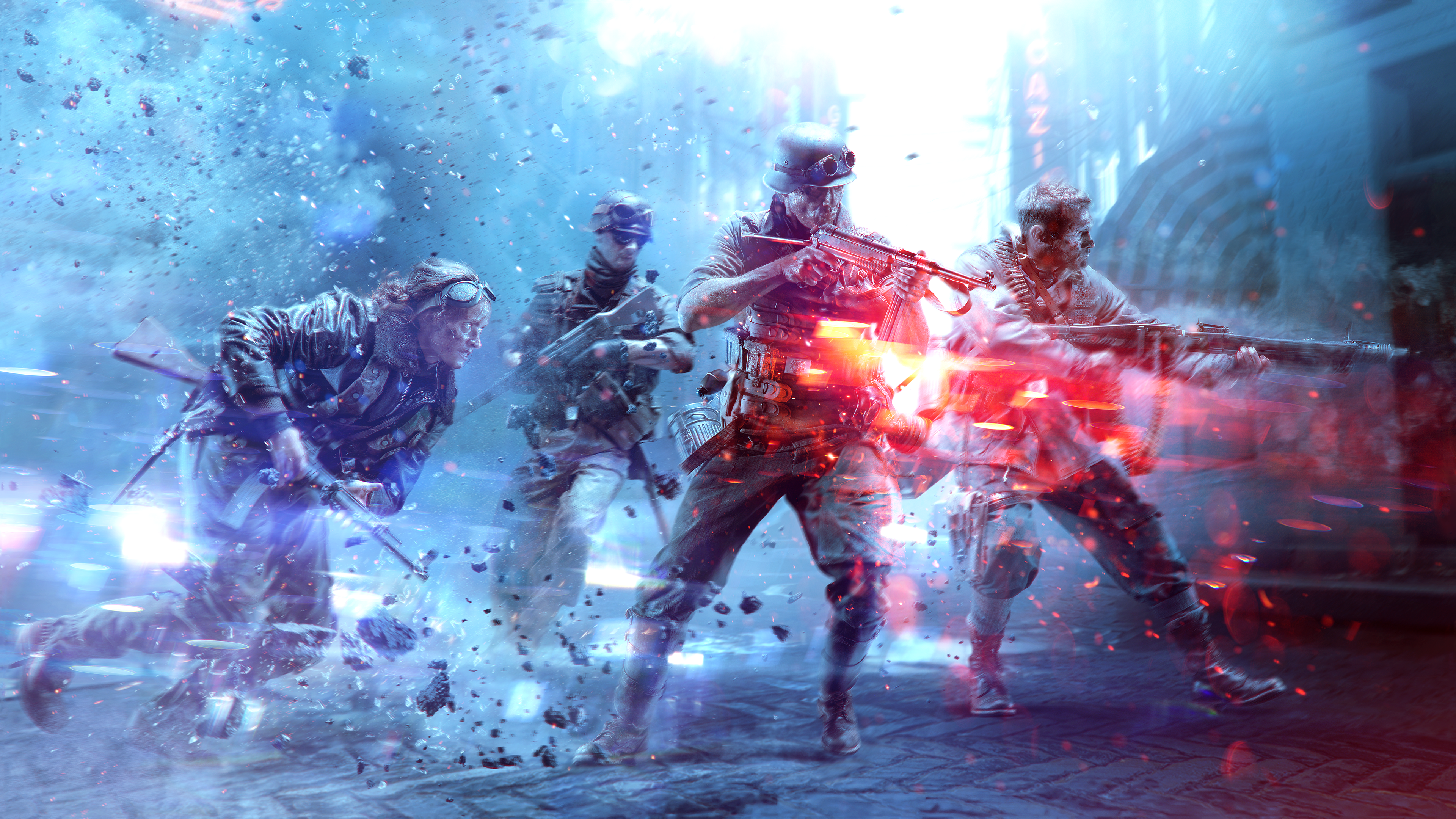 Battlefield 4k Wallpapers Top Free Battlefield 4k Backgrounds Wallpaperaccess