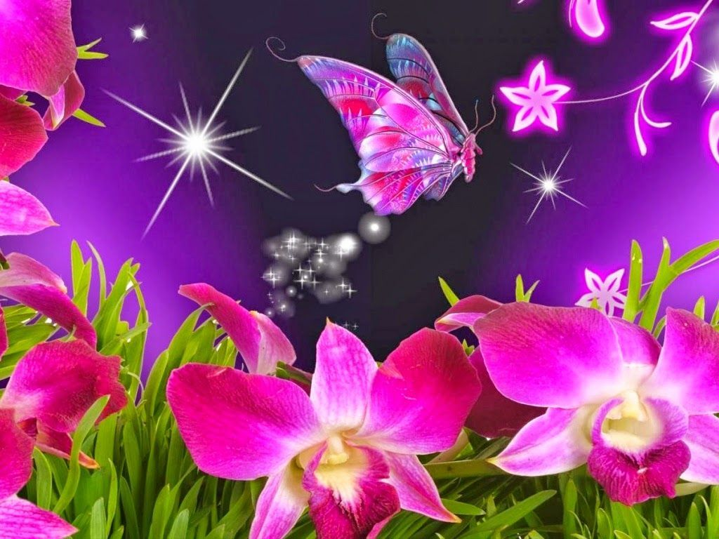 animated flower wallpapers   top free animated flower