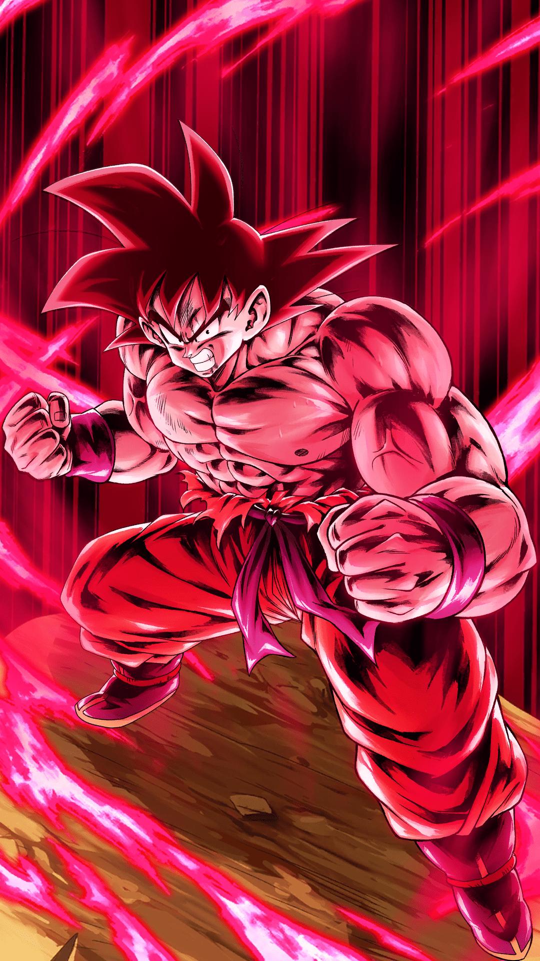 Goku Kaioken Wallpapers Top Free Goku Kaioken Backgrounds