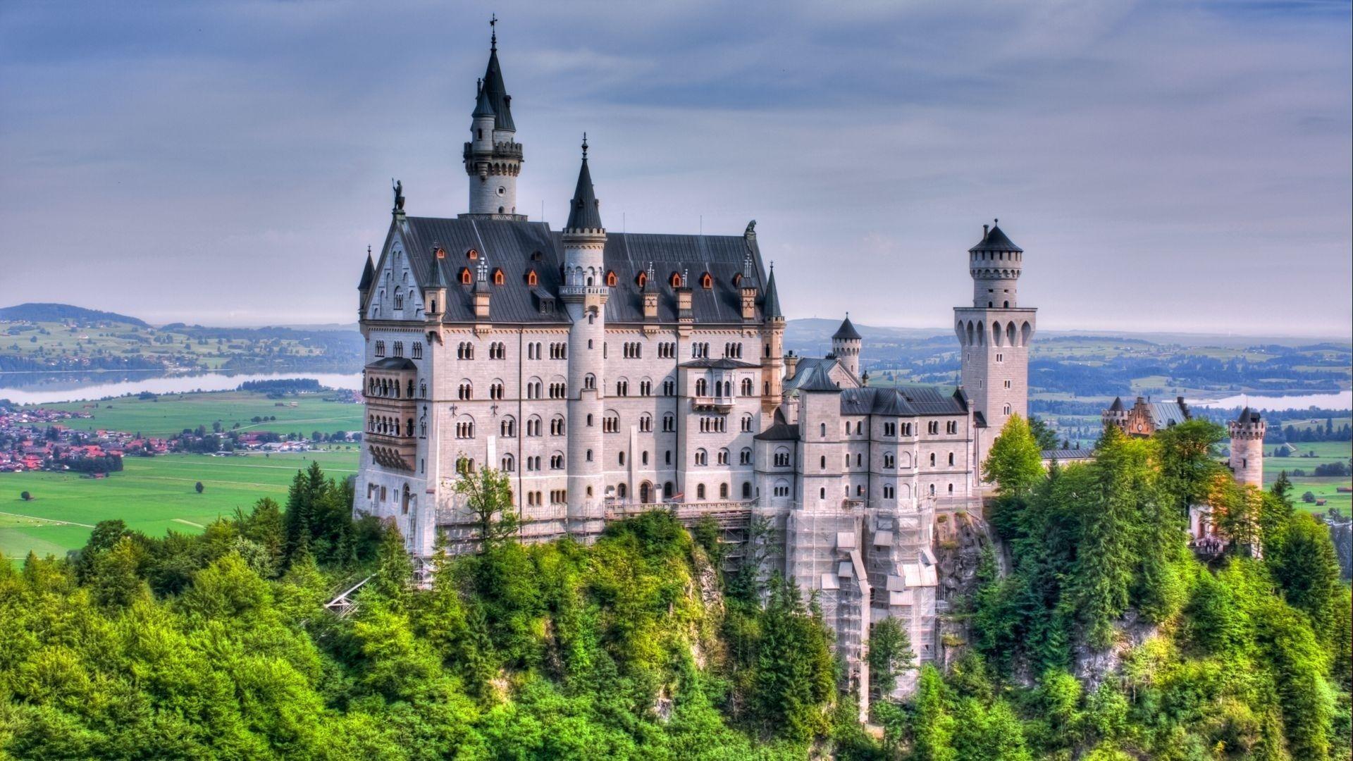 German Castle Wallpapers Top Free German Castle Backgrounds Wallpaperaccess
