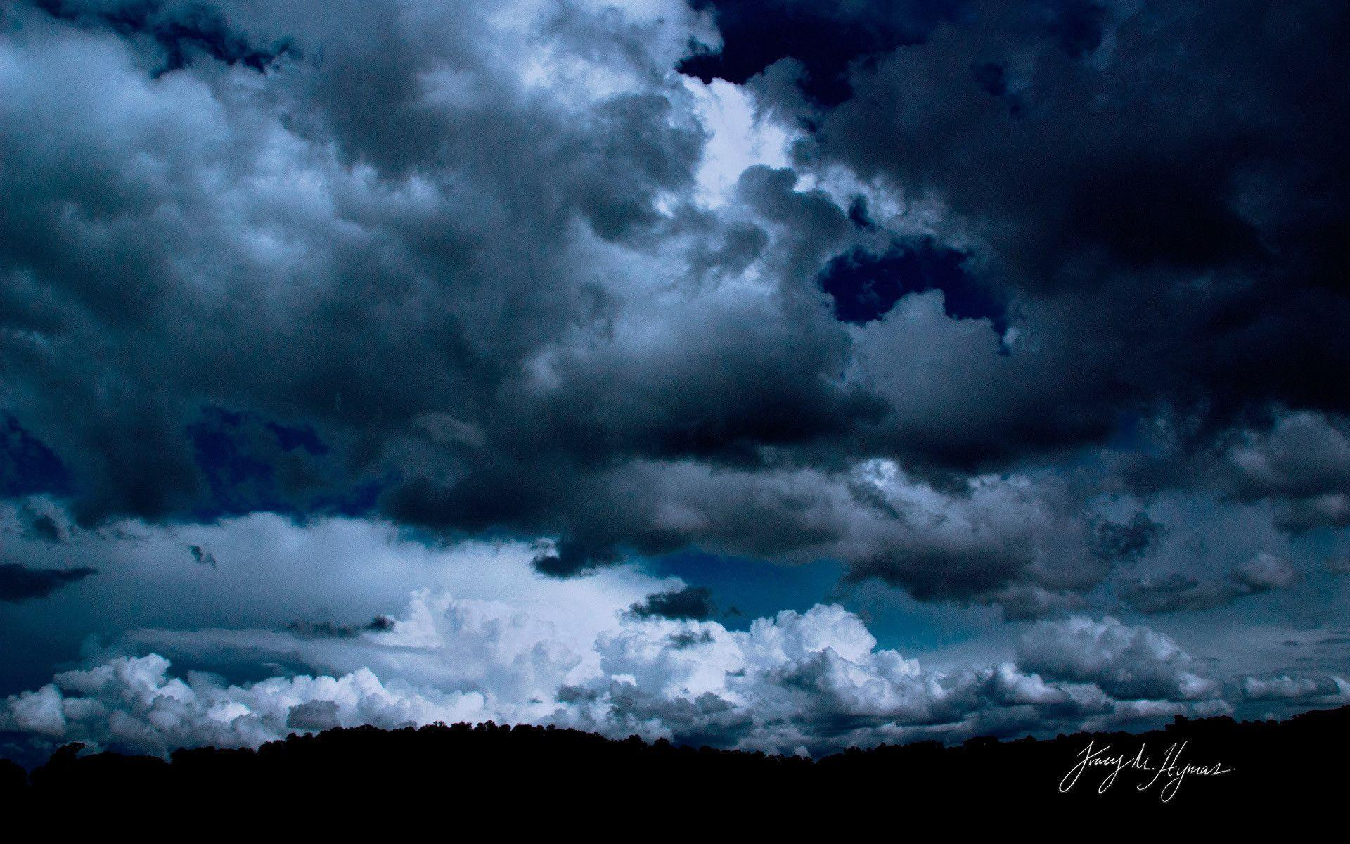 Dark Blue Sky Wallpapers Top Free Dark Blue Sky Backgrounds Wallpaperaccess