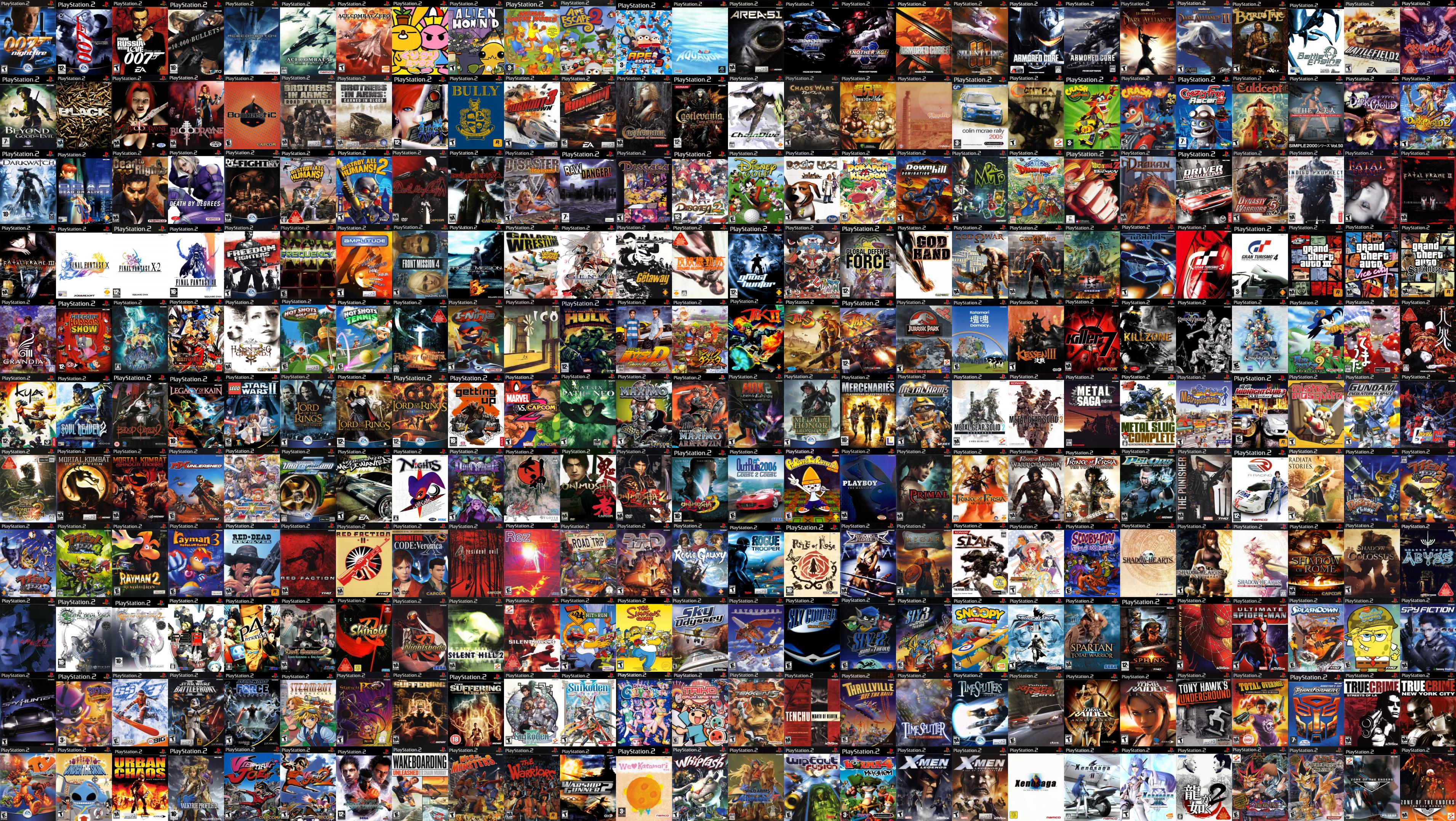 Playstation 2 Wallpapers Top Free Playstation 2 Backgrounds Wallpaperaccess