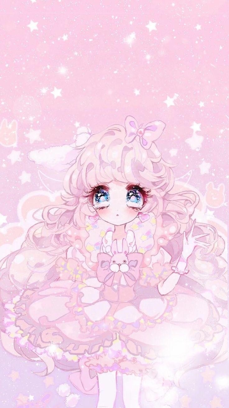 Kawaii cute girly wallpapers top free kawaii cute girly - Girly girl anime ...